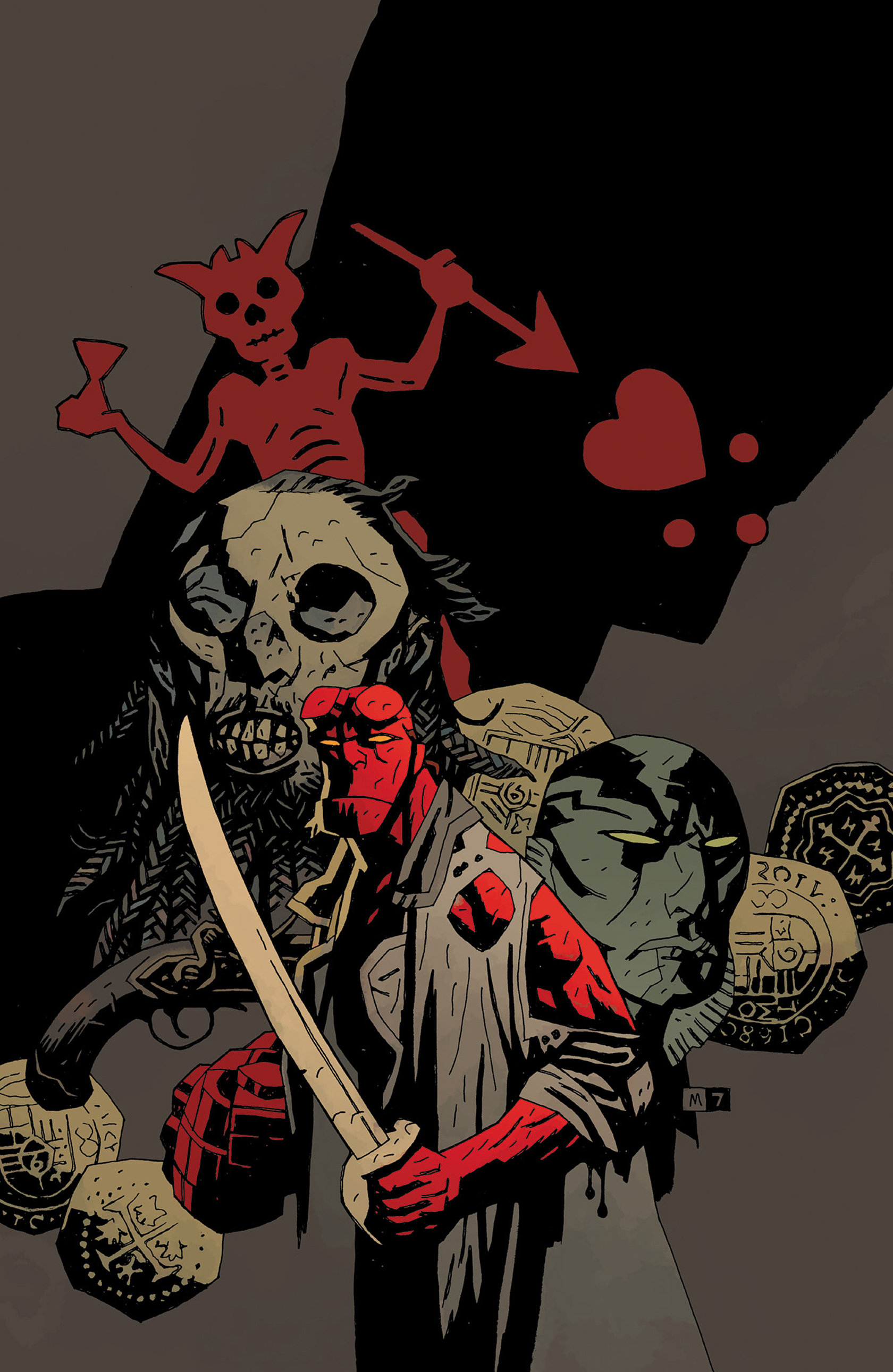 Read online Hellboy: The Crooked Man and Others comic -  Issue # TPB - 145