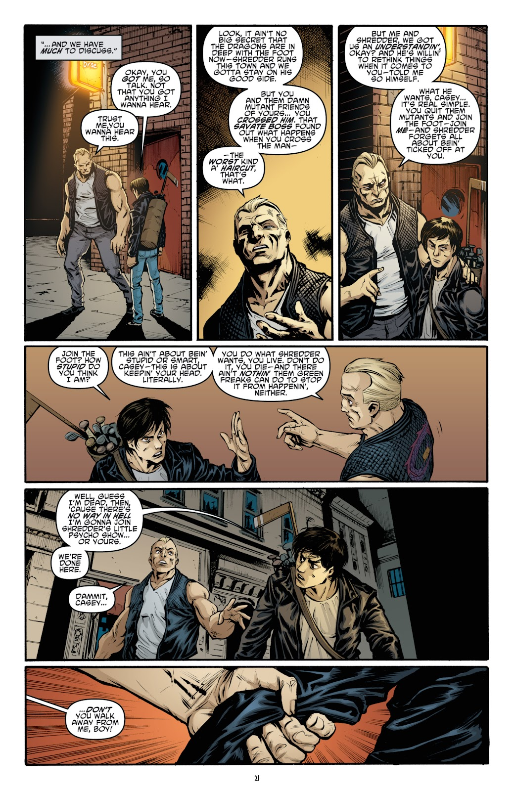 Read online Teenage Mutant Ninja Turtles: The IDW Collection comic -  Issue # TPB 4 (Part 3) - 28