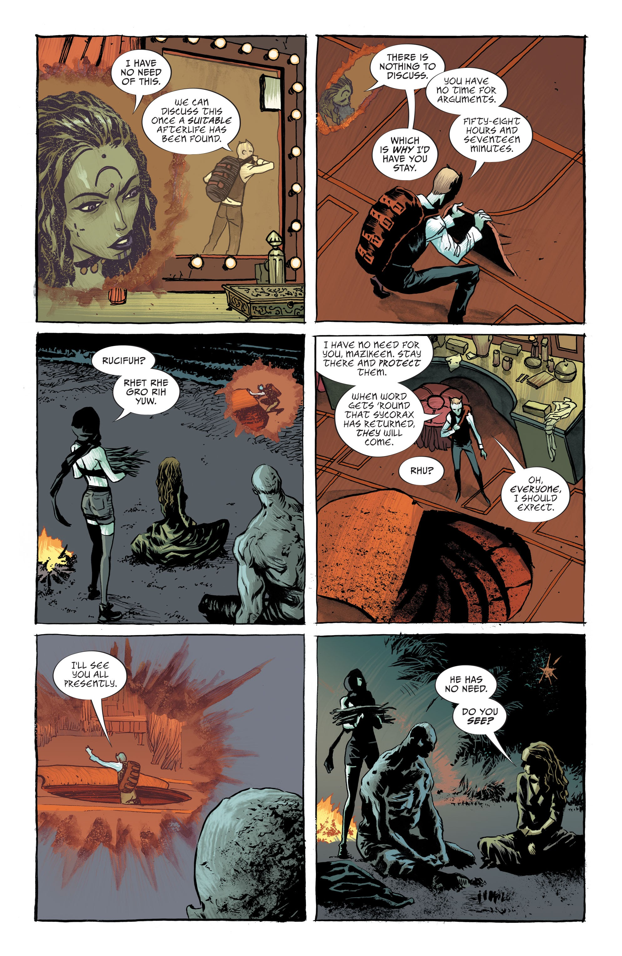 Read online Lucifer (2018) comic -  Issue #7 - 22