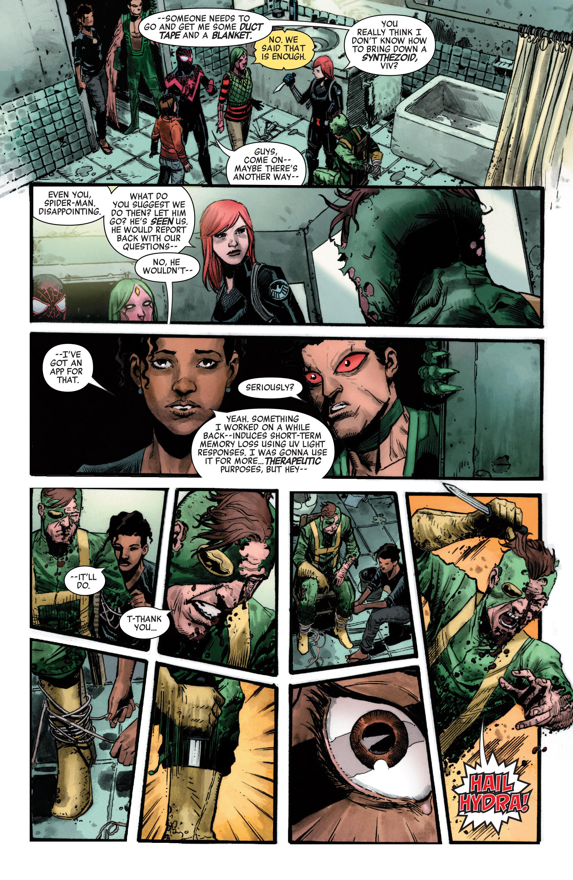 Read online Secret Empire comic -  Issue #4 - 8
