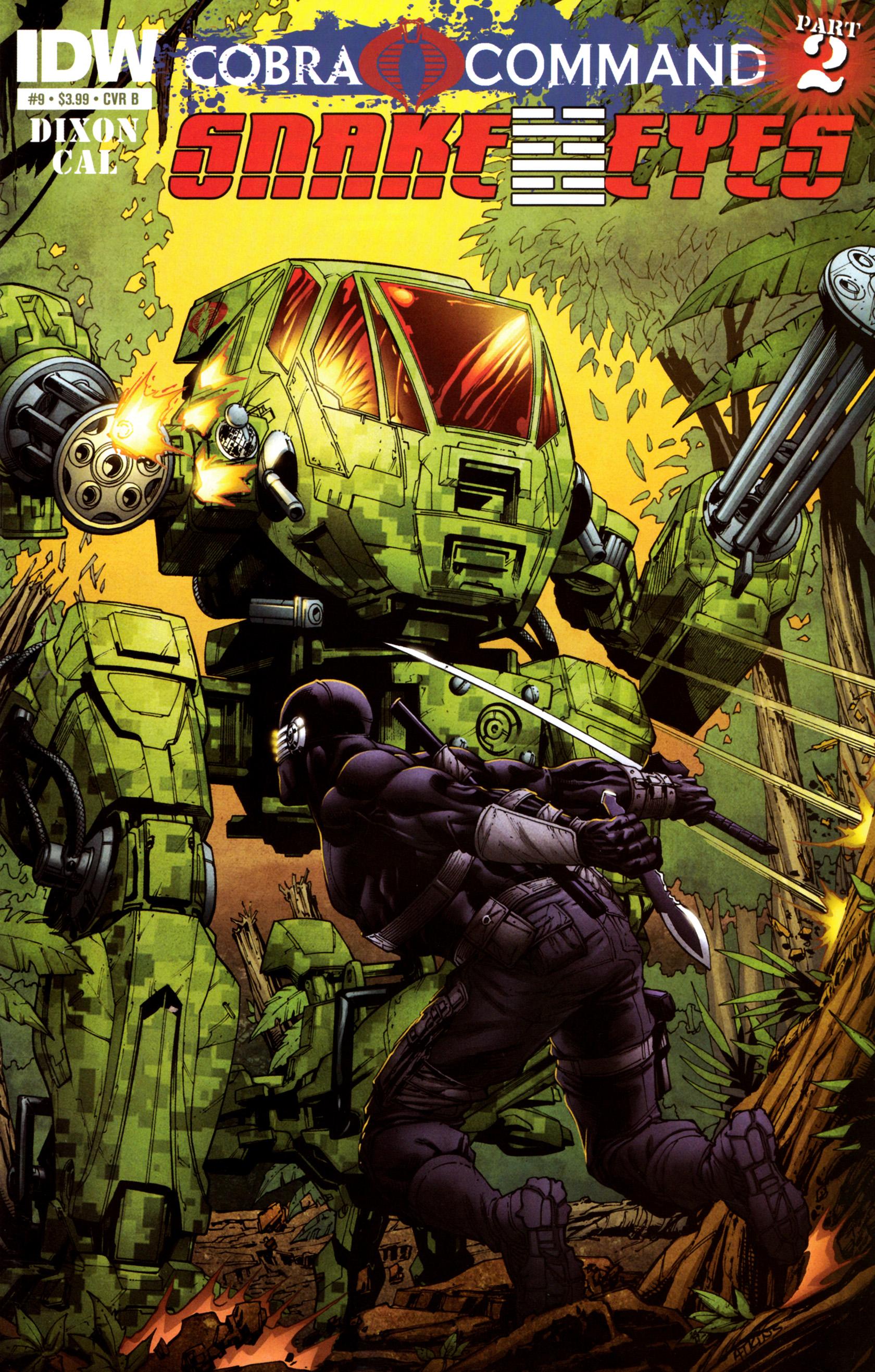 Read online G.I. Joe: Snake Eyes comic -  Issue #9 - 2