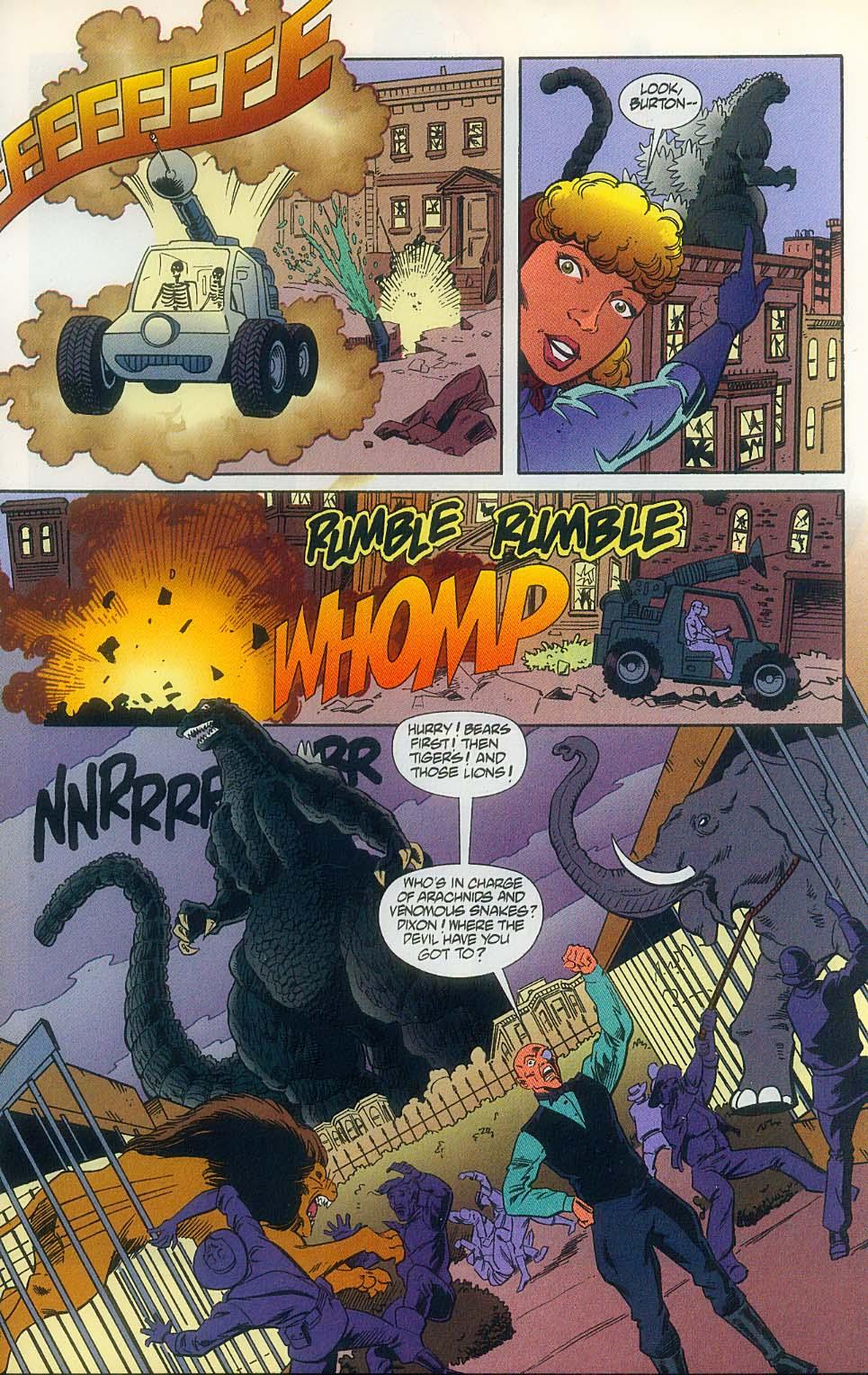 Godzilla (1995) Issue #11 #12 - English 23