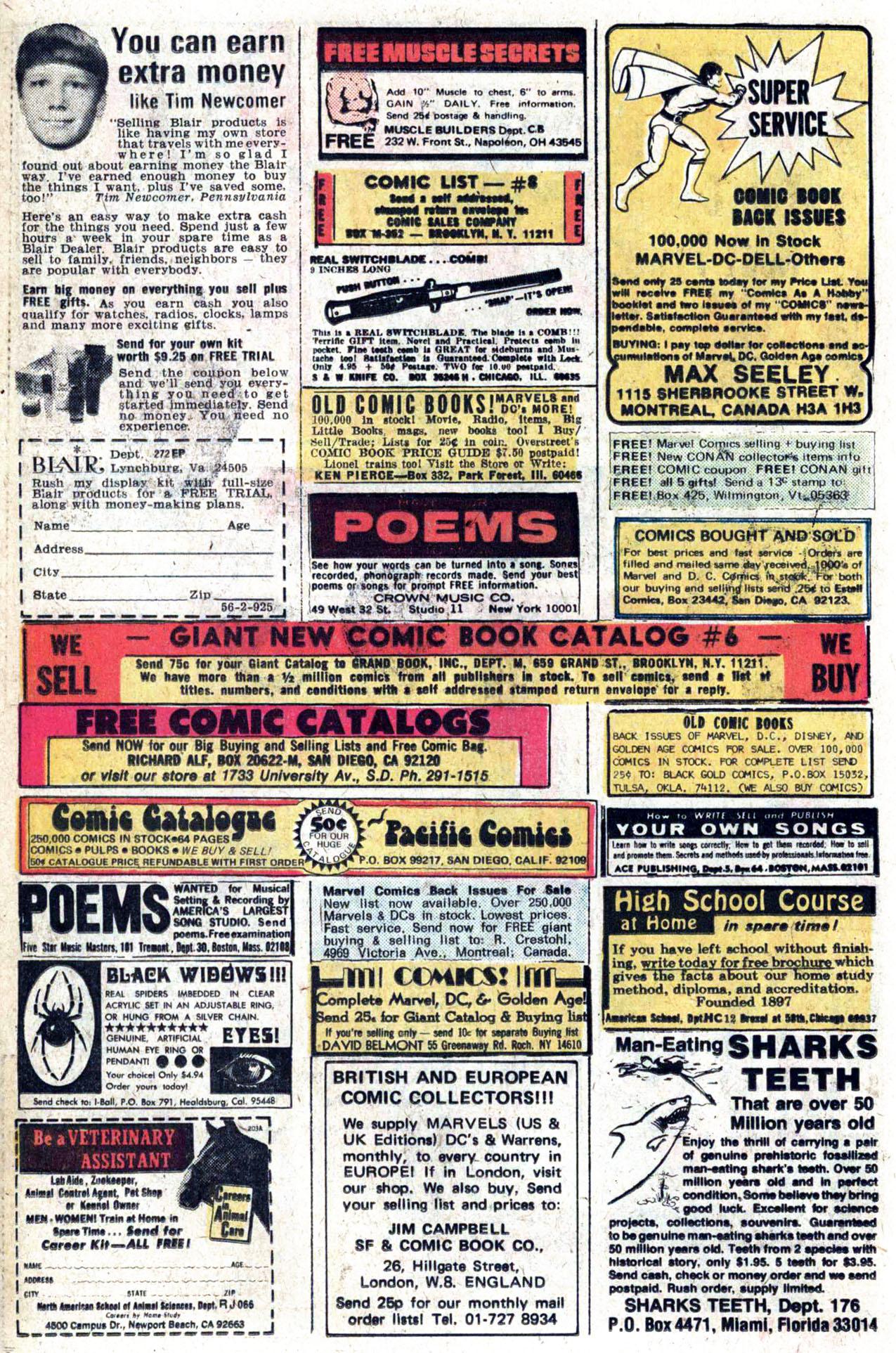 Read online Amazing Adventures (1970) comic -  Issue #38 - 10