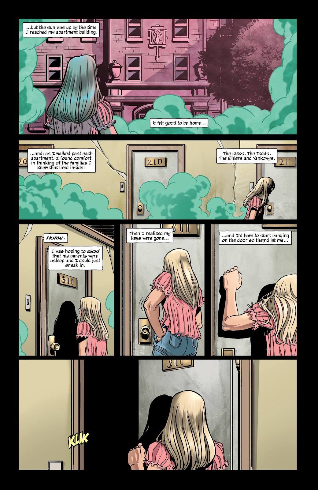 Read online The Girl In The Bay comic -  Issue #1 - 14