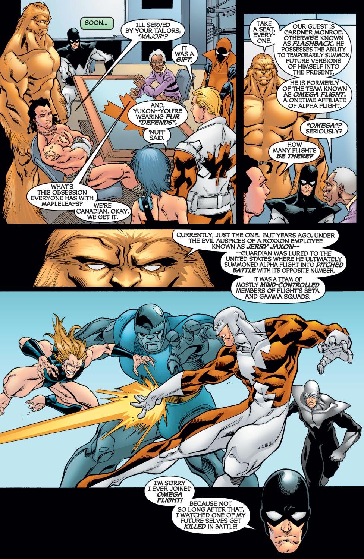 Read online Alpha Flight (2004) comic -  Issue #9 - 11