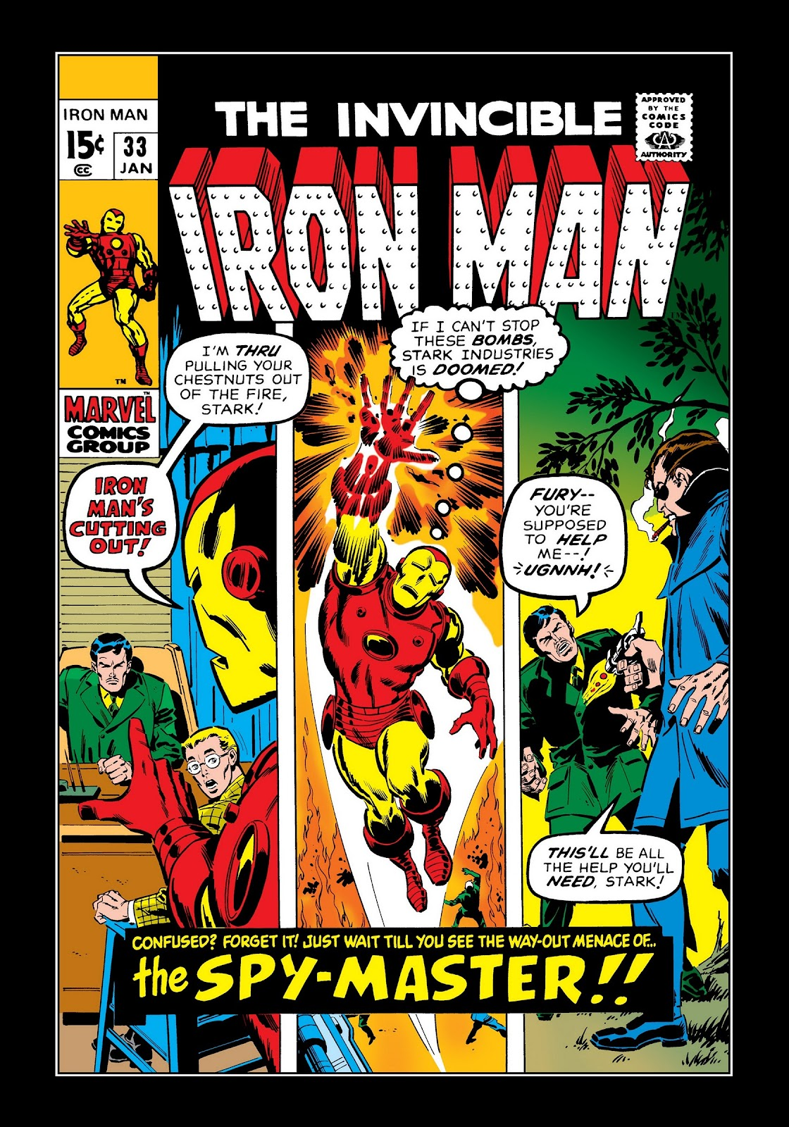 Read online Marvel Masterworks: The Invincible Iron Man comic -  Issue # TPB 7 (Part 2) - 49