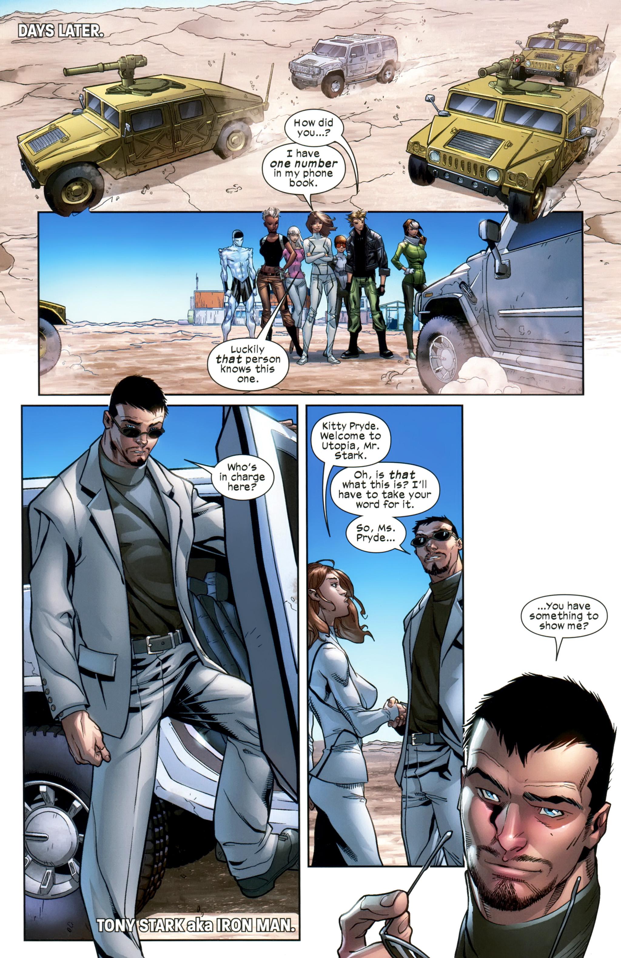 Read online Ultimate Comics X-Men comic -  Issue #20 - 17