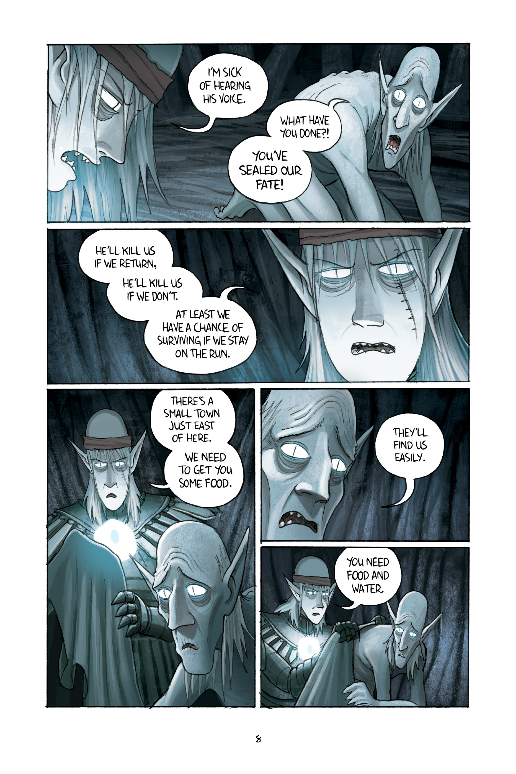 Read online Amulet comic -  Issue #3 - 10