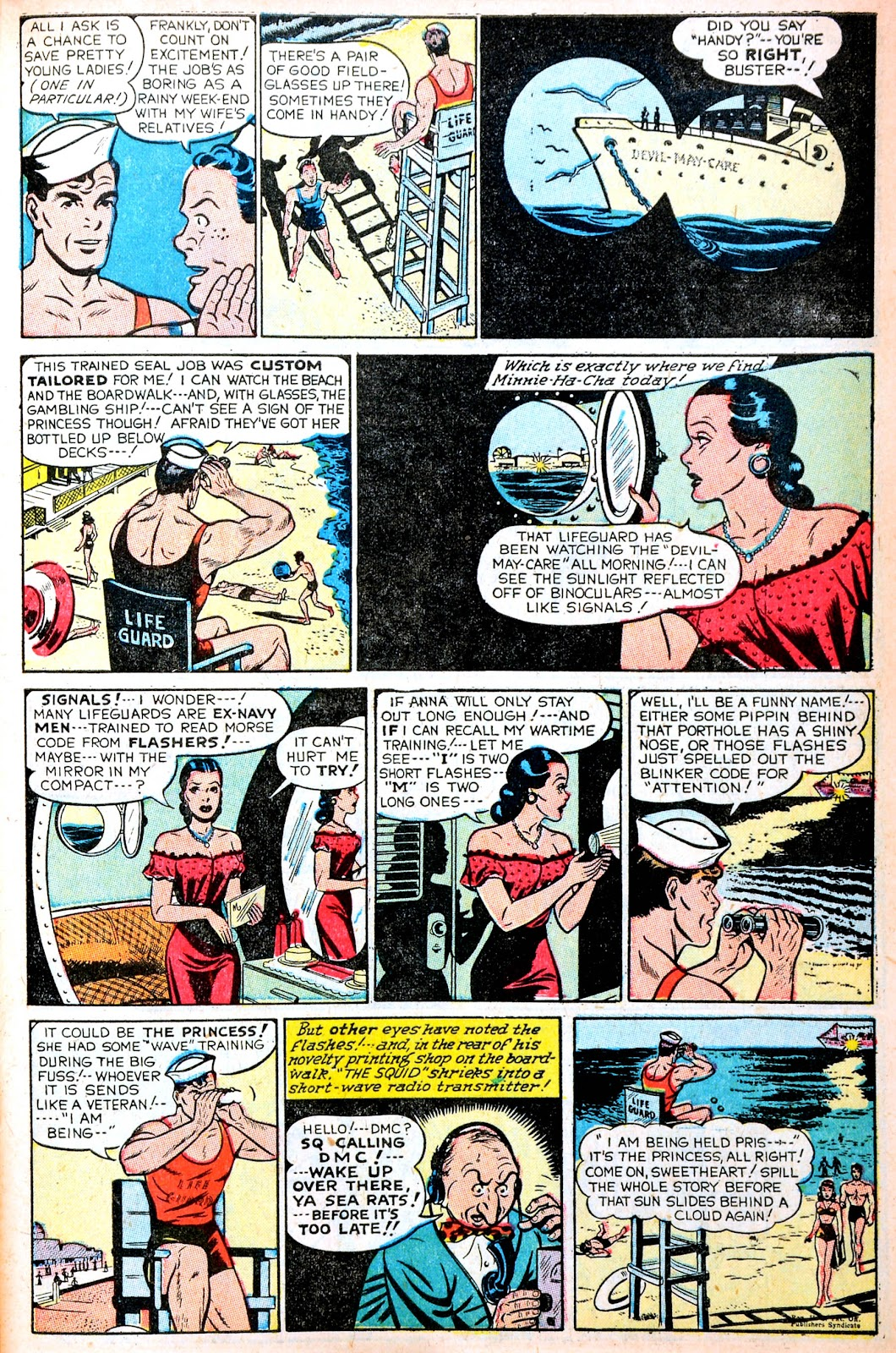 Read online Famous Funnies comic -  Issue #195 - 7
