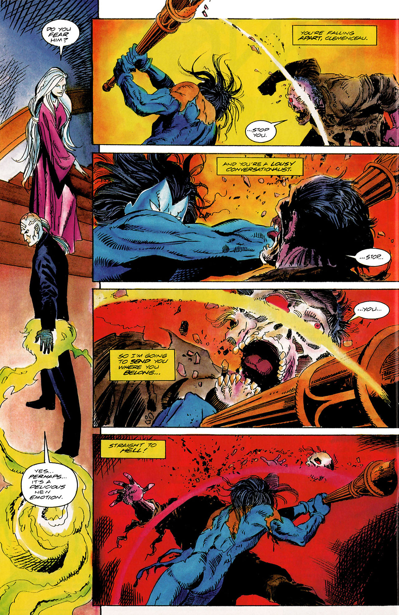 Read online Shadowman (1992) comic -  Issue #10 - 20
