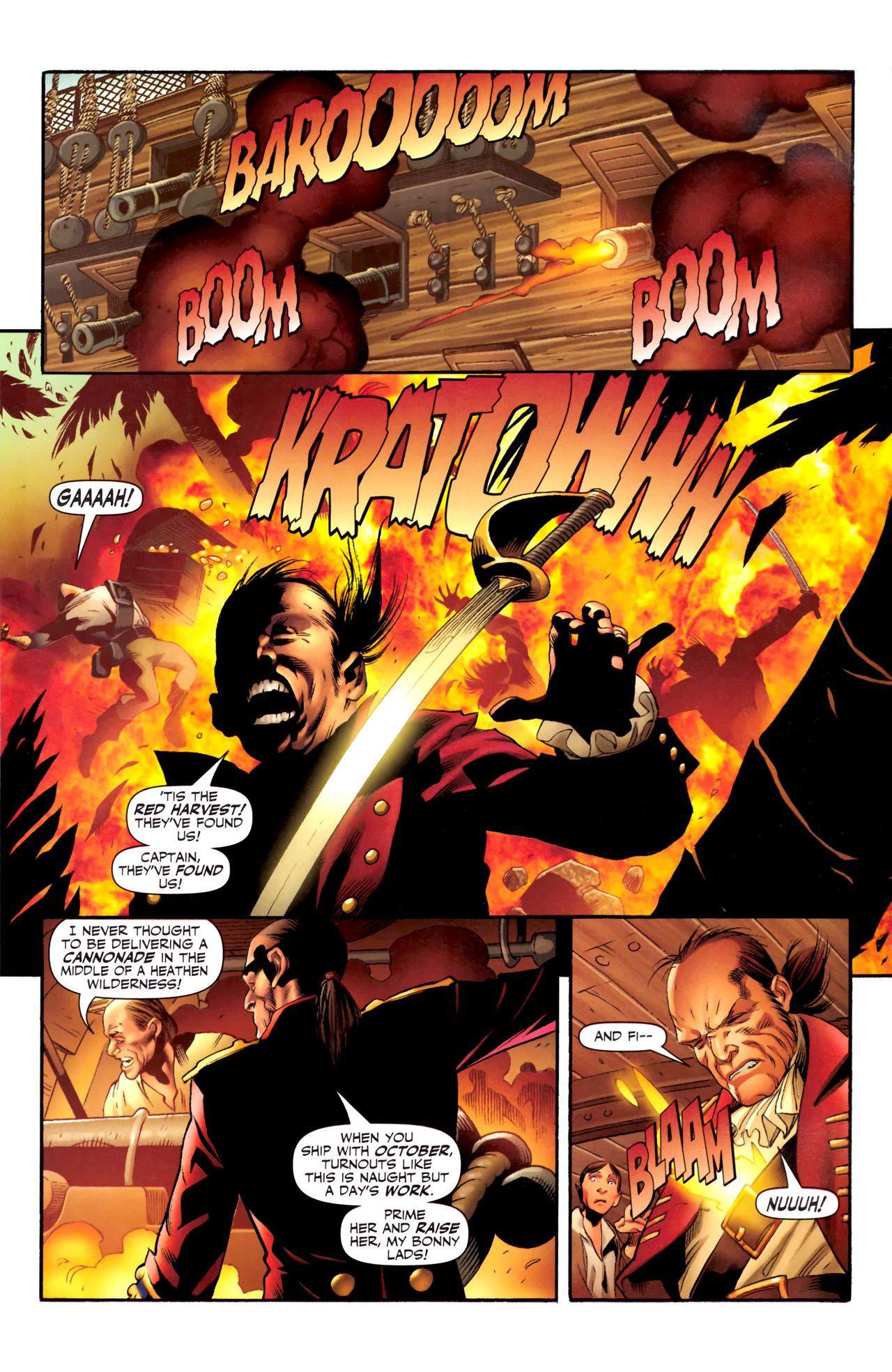 Read online Sigil (2011) comic -  Issue #4 - 3