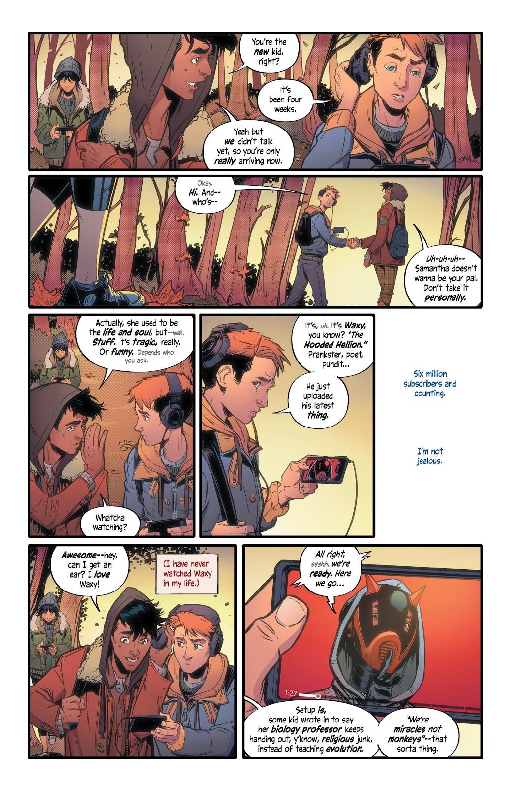 Read online Alienated comic -  Issue #1 - 9