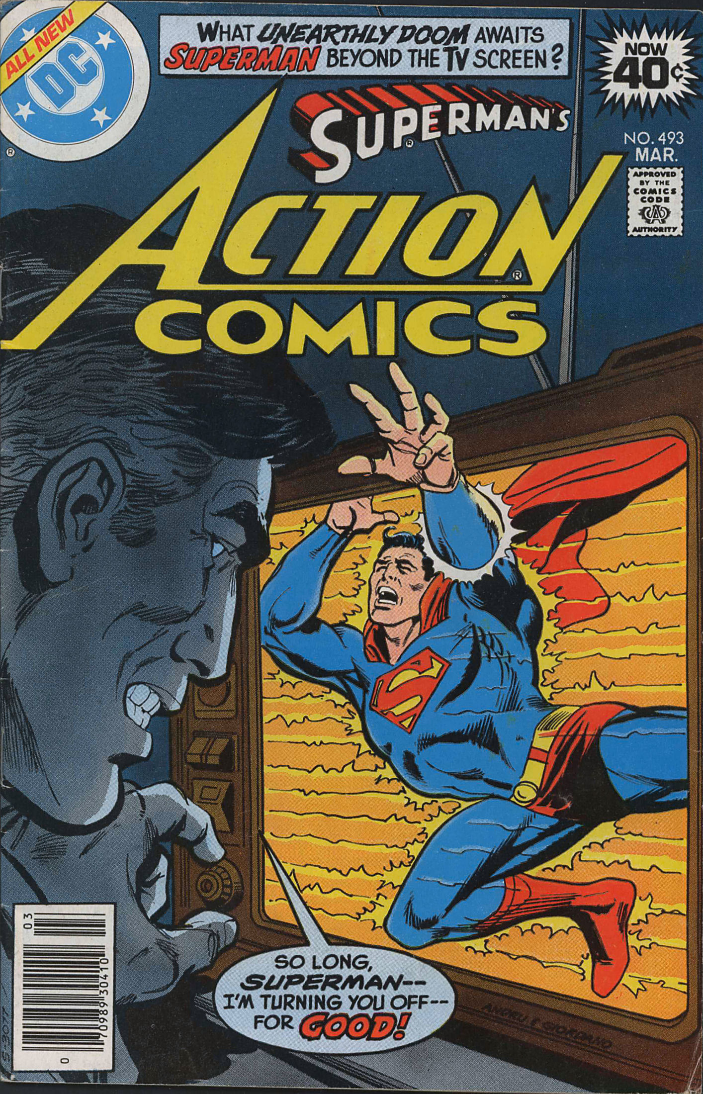 Read online Action Comics (1938) comic -  Issue #493 - 1
