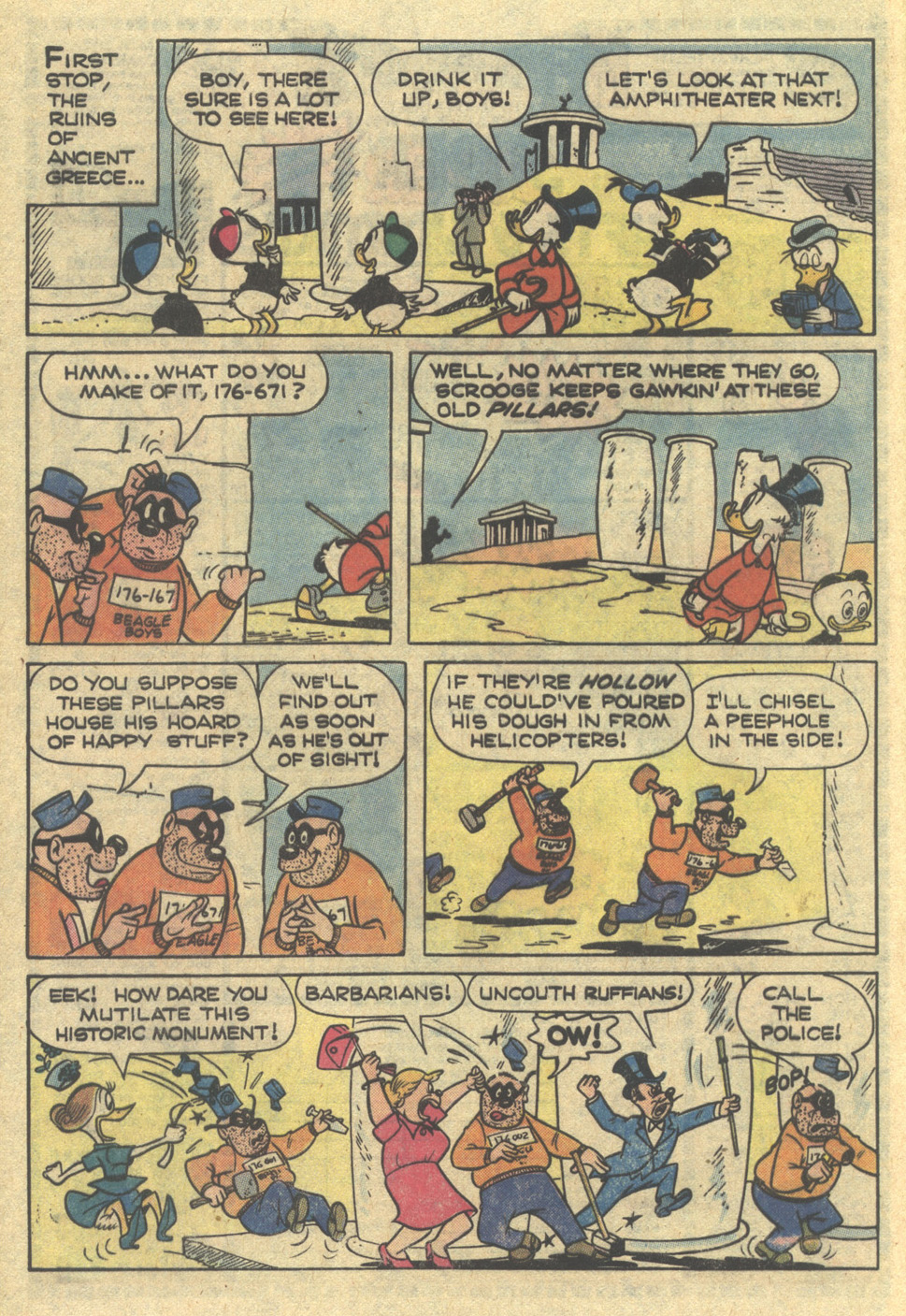 Read online Uncle Scrooge (1953) comic -  Issue #167 - 8