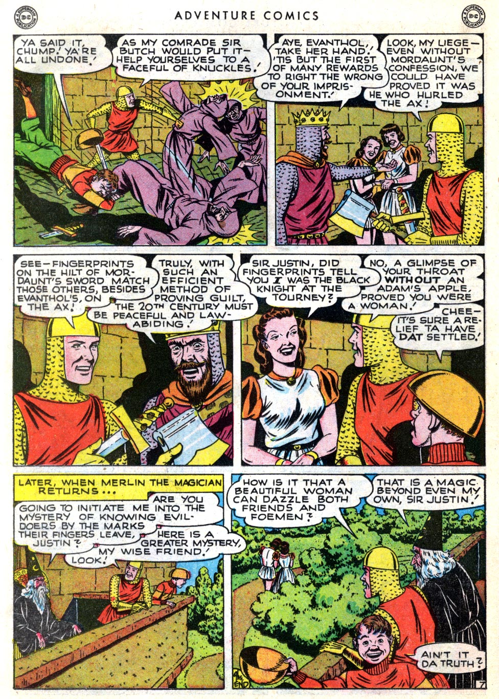 Read online Adventure Comics (1938) comic -  Issue #137 - 36