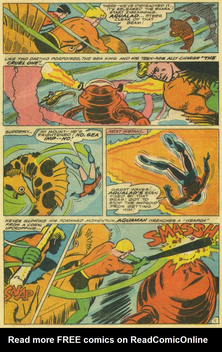 Read online Aquaman (1962) comic -  Issue #30 - 16