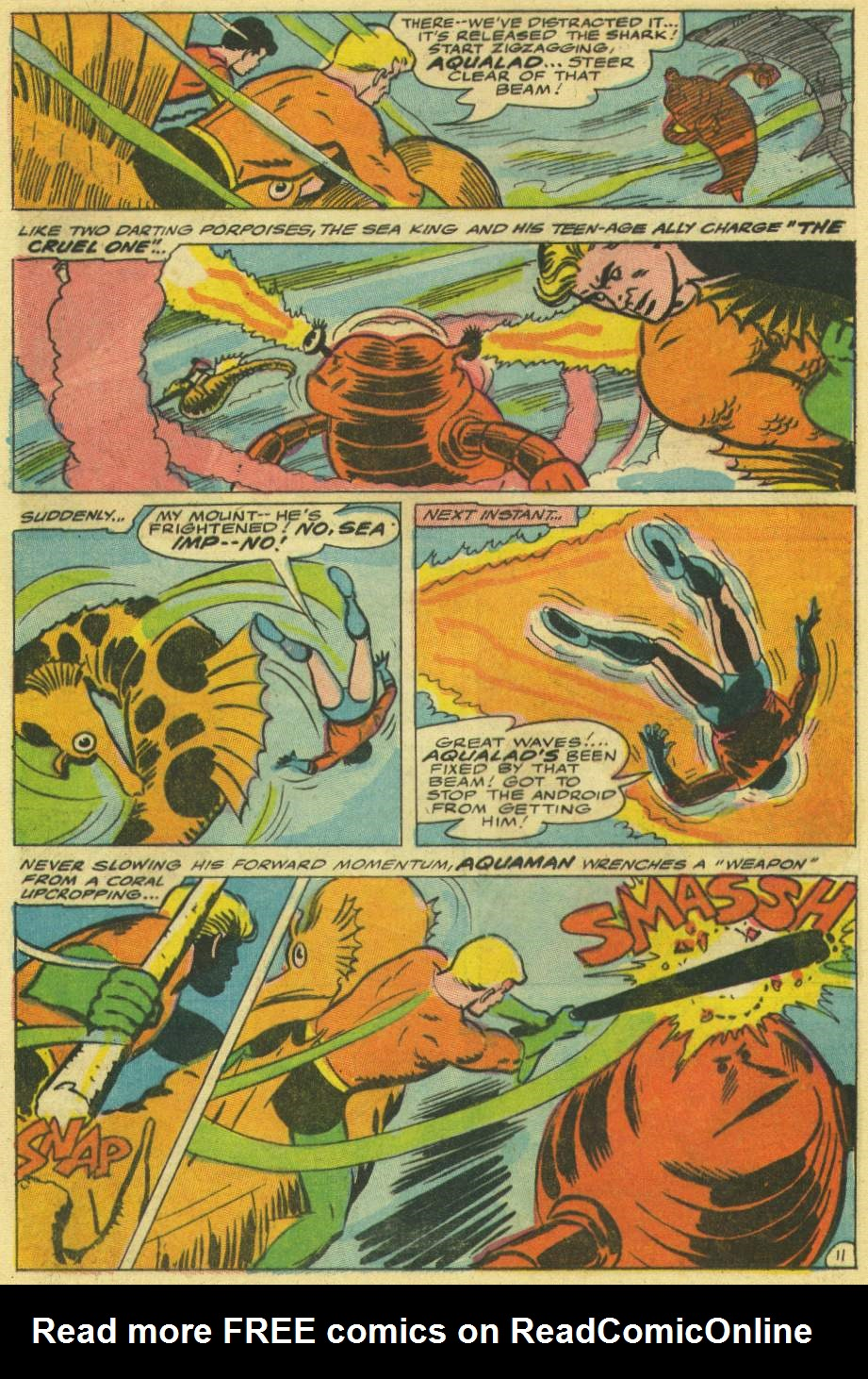 Aquaman (1962) Issue #30 #30 - English 16