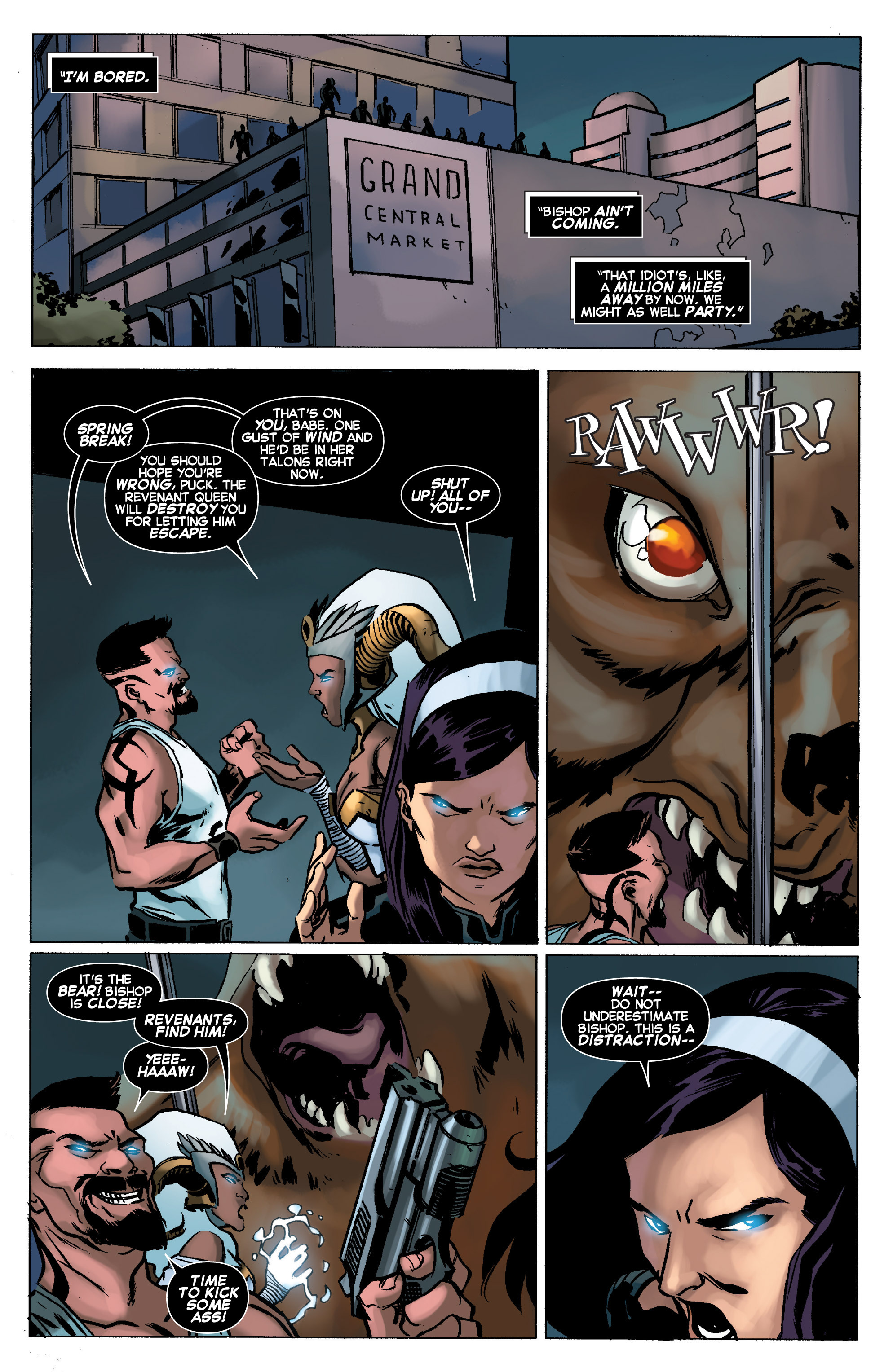 Read online Uncanny X-Force (2013) comic -  Issue #11 - 10
