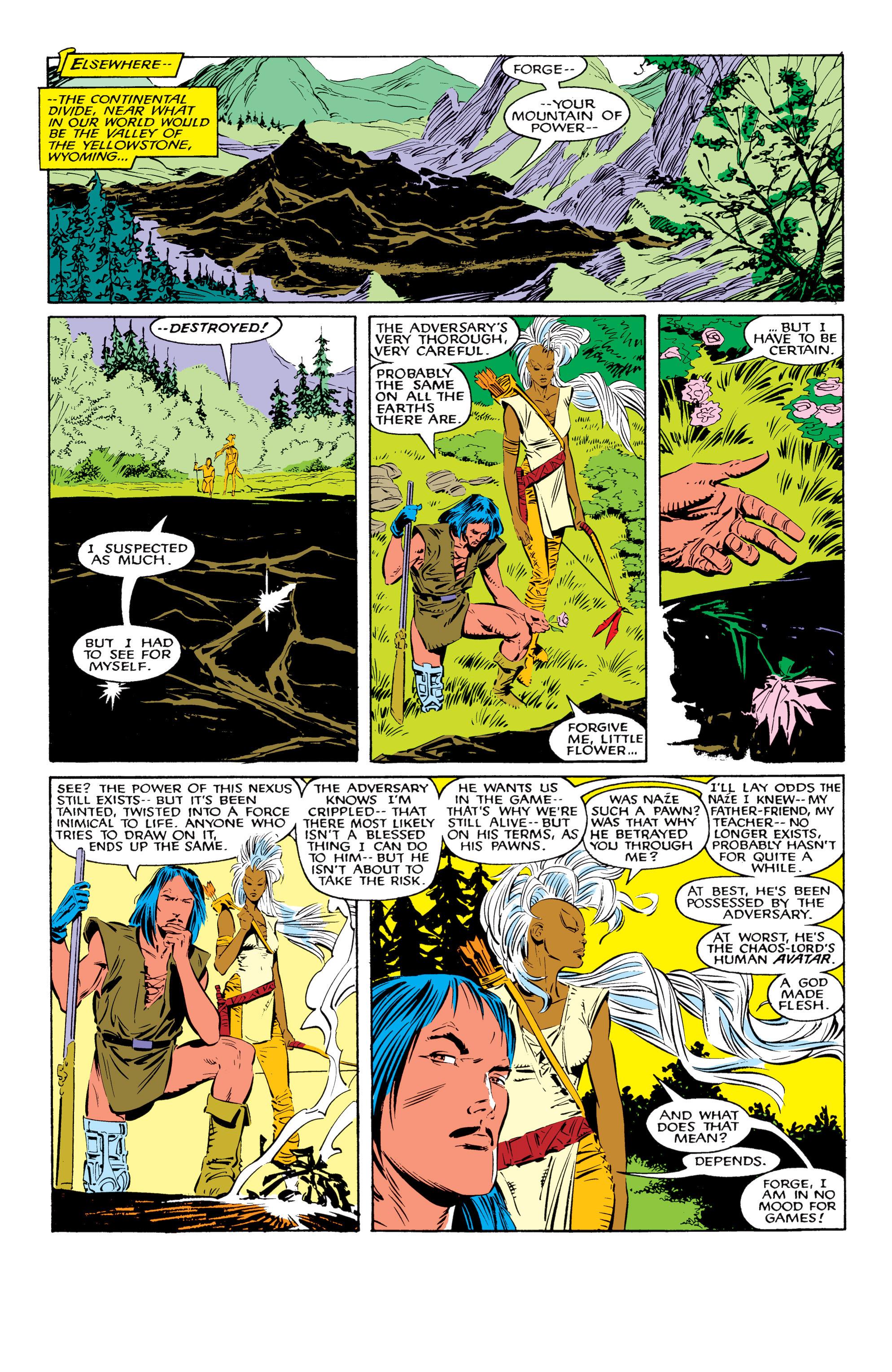 Read online Uncanny X-Men (1963) comic -  Issue #226 - 18