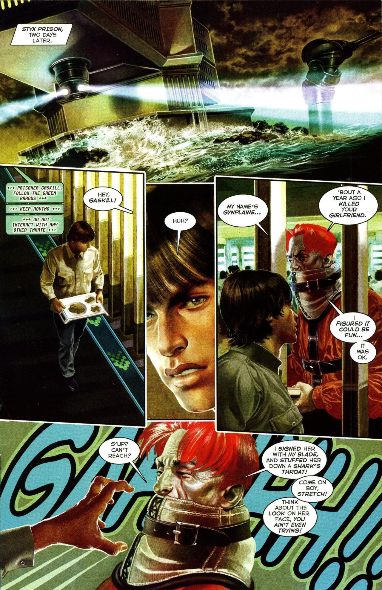 Read online Shark-Man comic -  Issue #3 - 17