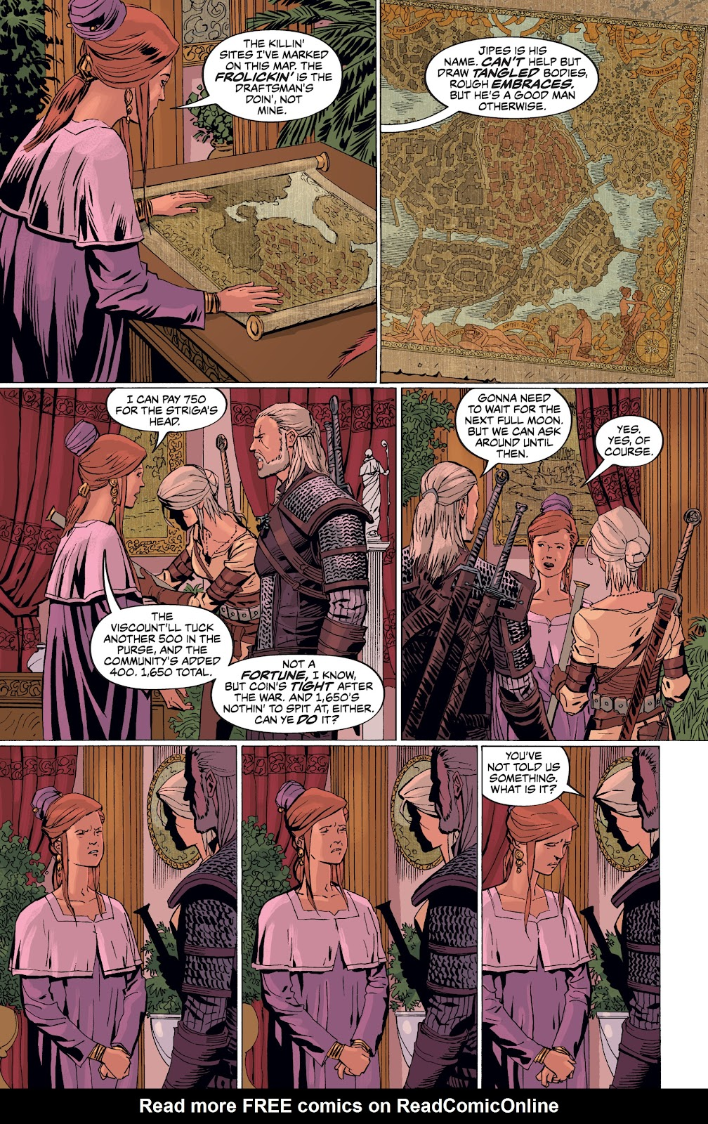 Read online The Witcher Omnibus comic -  Issue # TPB (Part 4) - 39