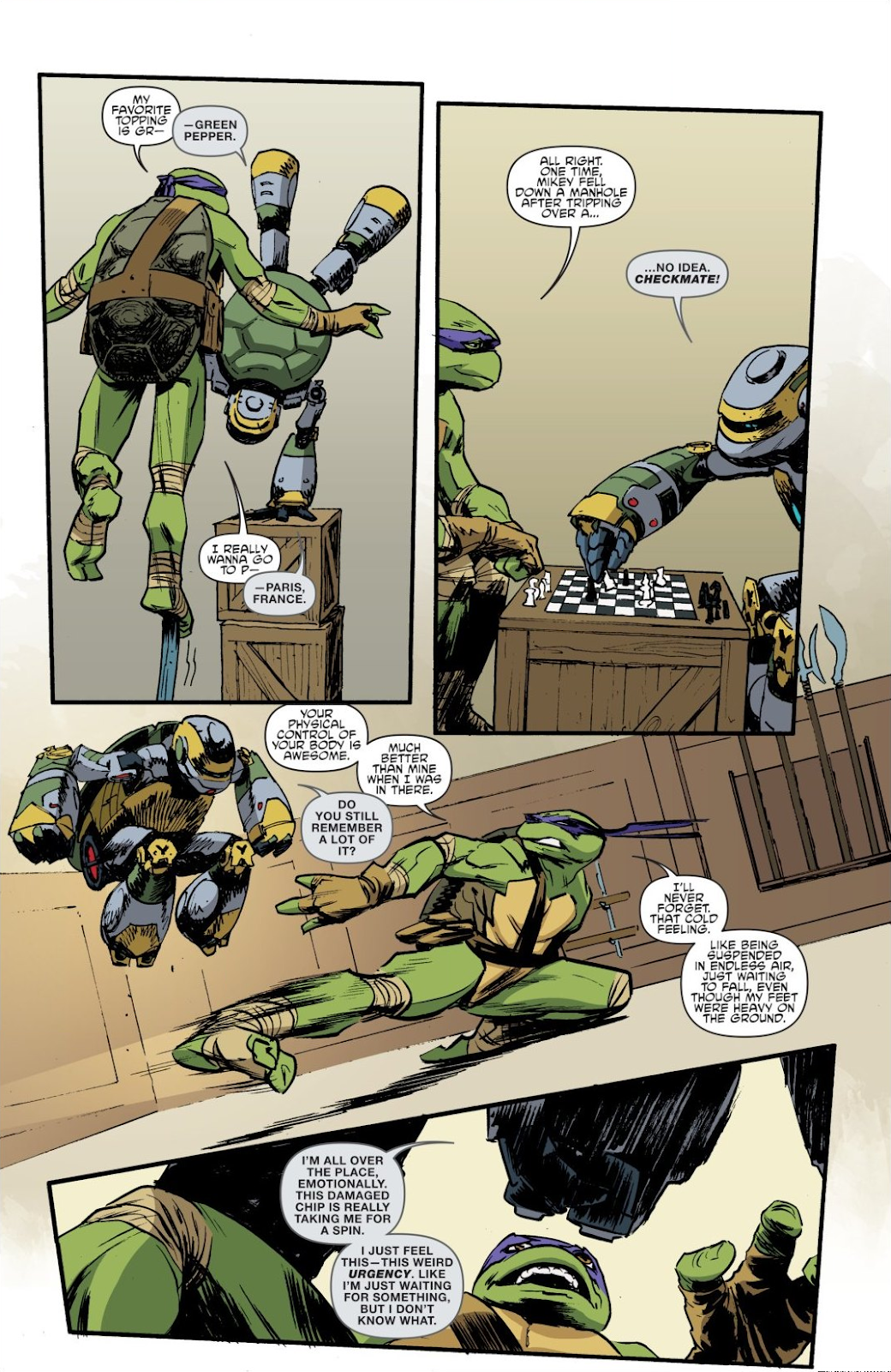 Read online Teenage Mutant Ninja Turtles: The IDW Collection comic -  Issue # TPB 8 (Part 4) - 48
