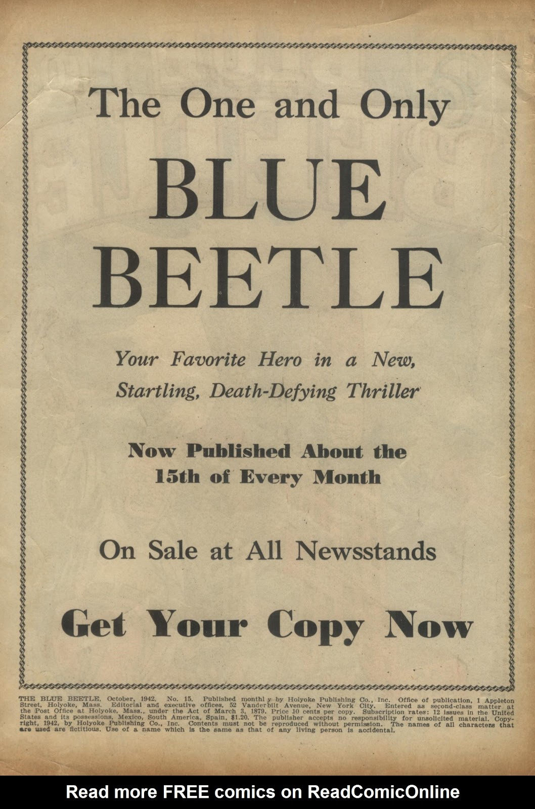 The Blue Beetle issue 15 - Page 2