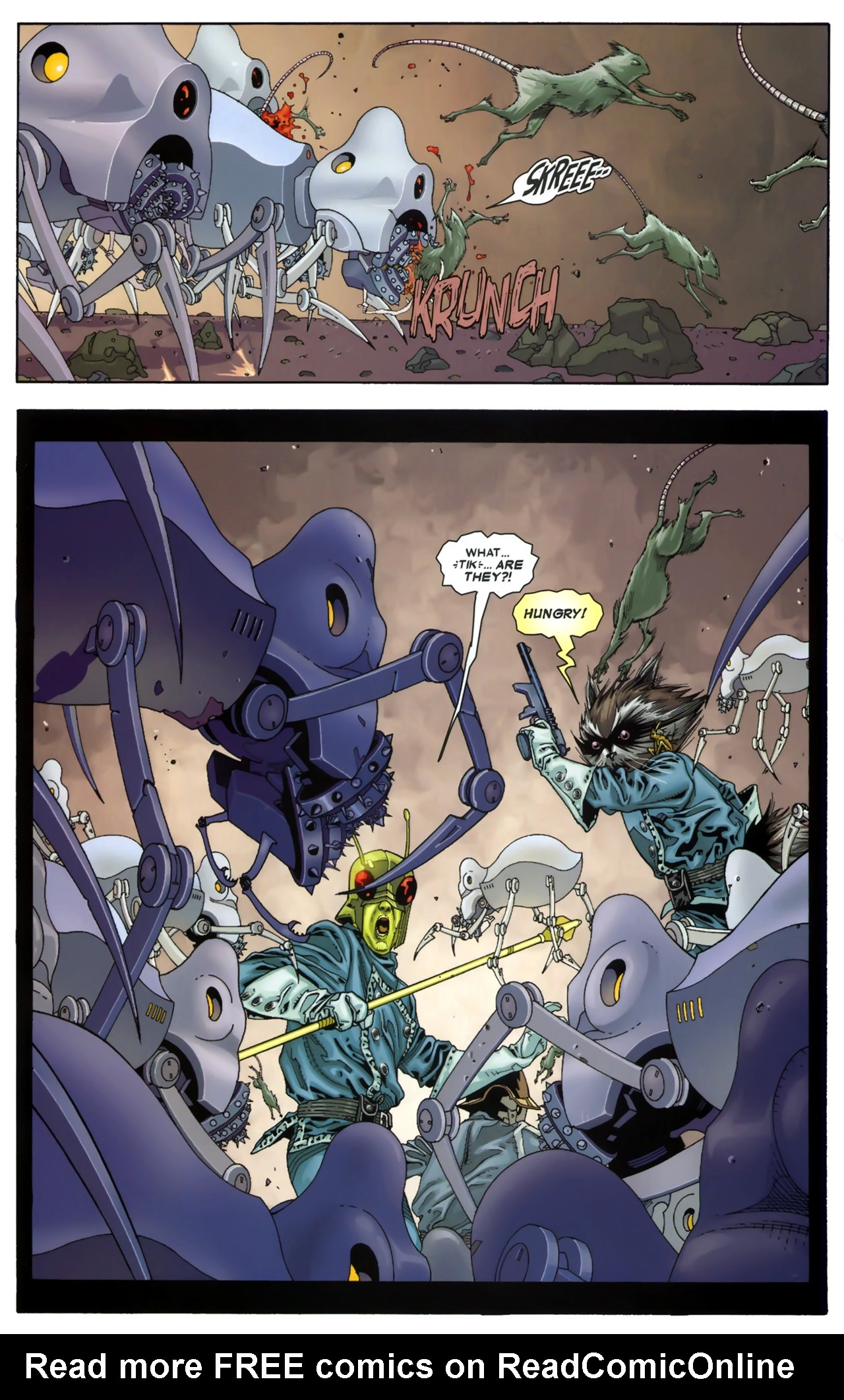 Read online Annihilation: Conquest - Starlord comic -  Issue #3 - 11
