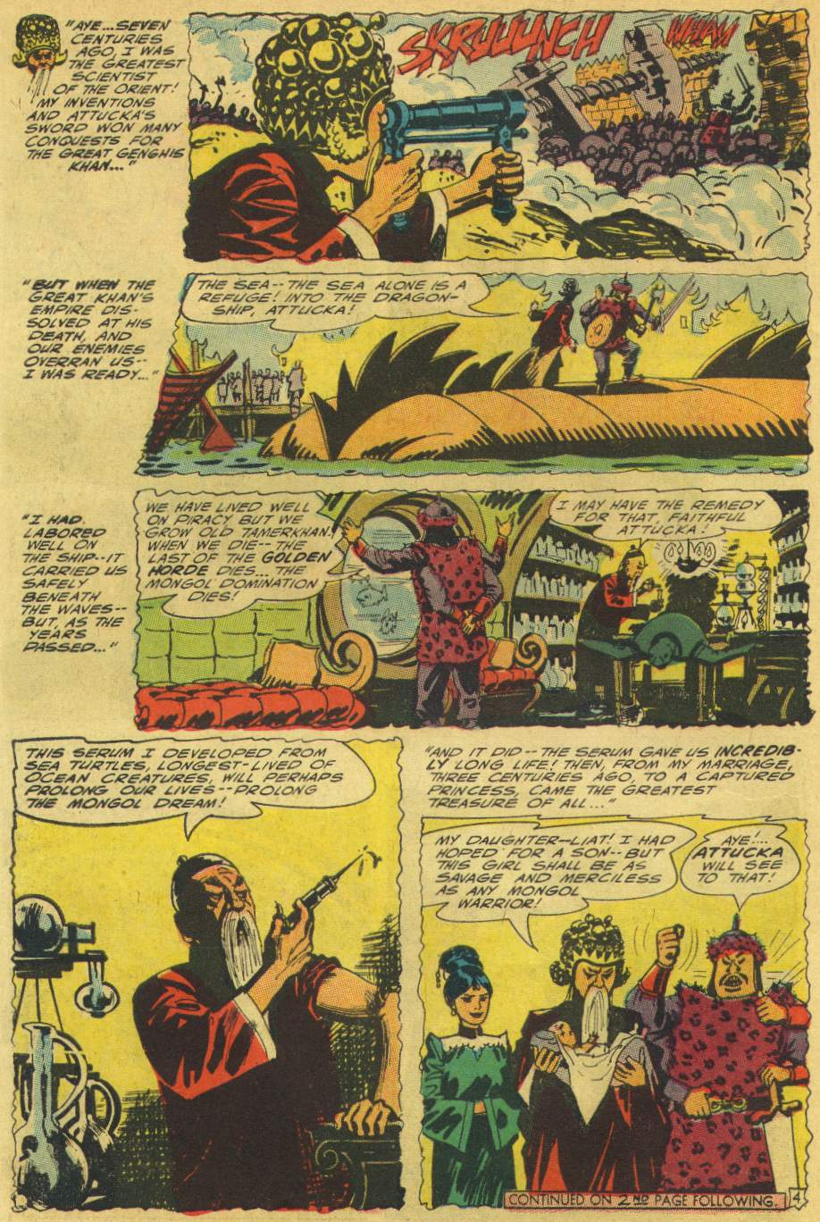 Read online Aquaman (1962) comic -  Issue #25 - 6