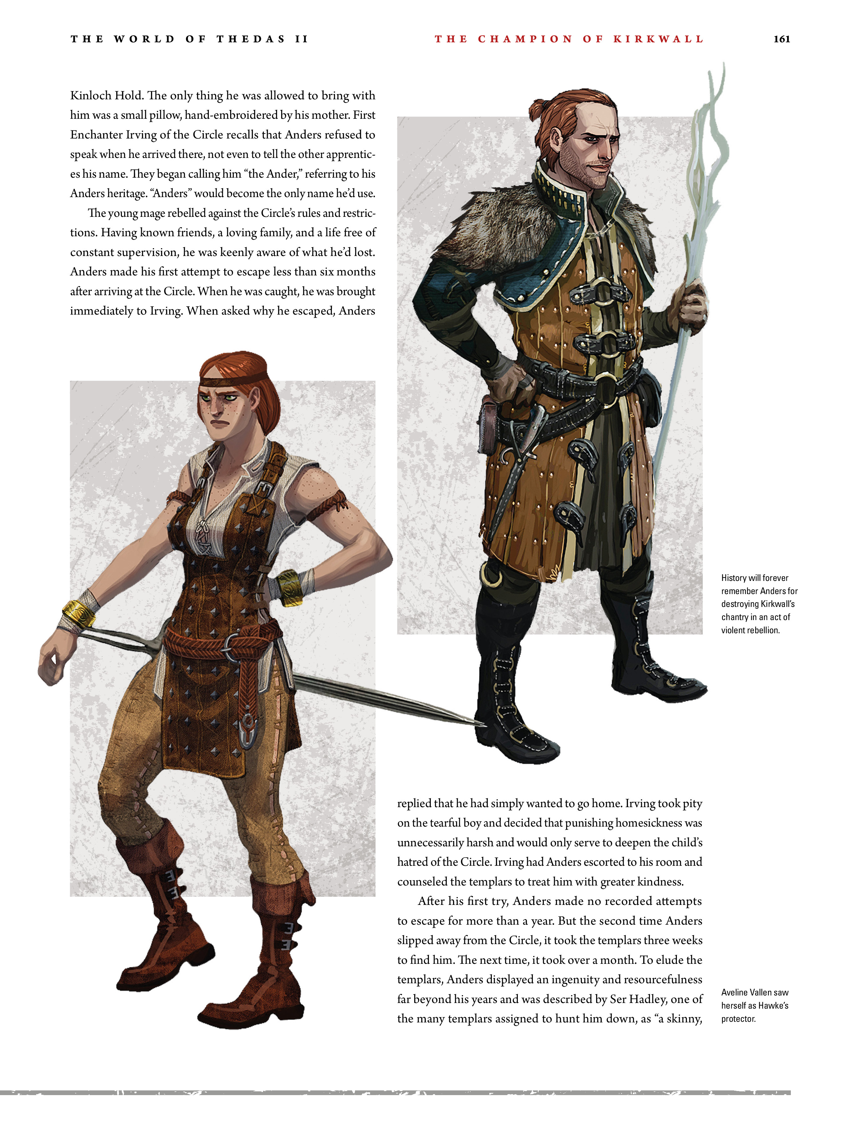 Read online Dragon Age: The World of Thedas comic -  Issue # TPB 2 - 157