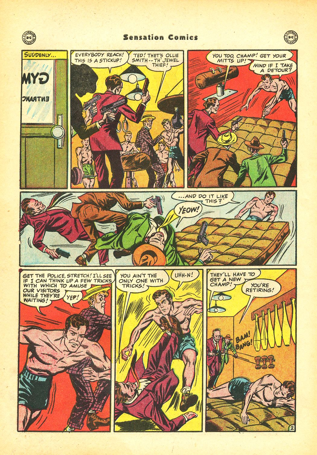 Read online Sensation (Mystery) Comics comic -  Issue #86 - 44