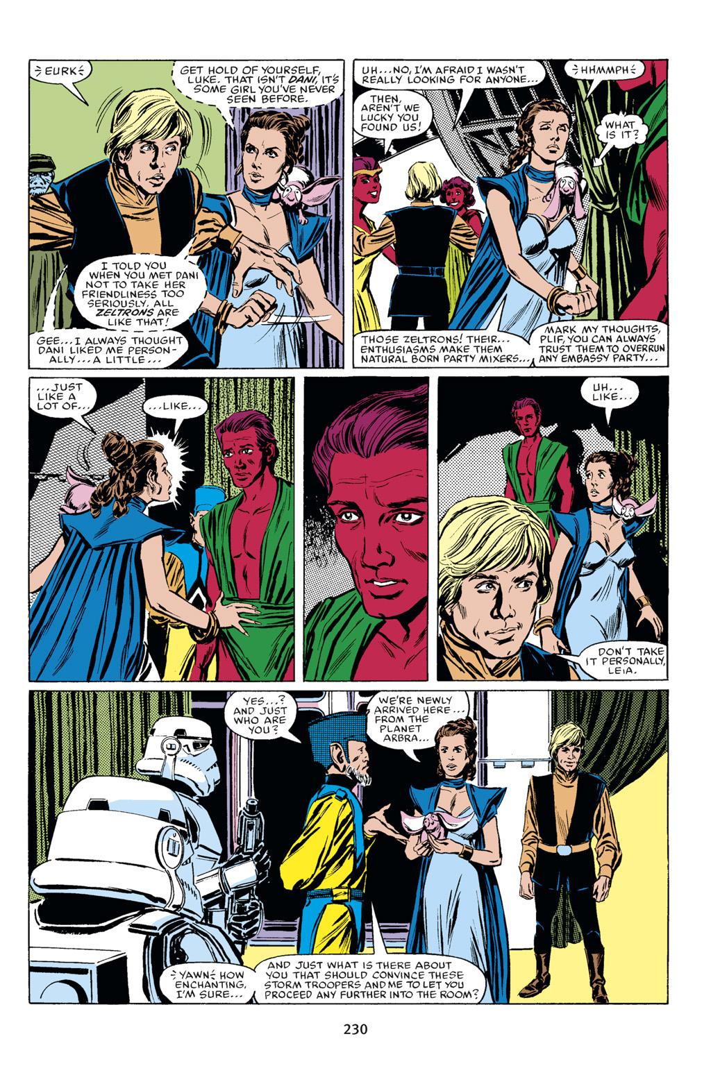 Read online Star Wars Omnibus comic -  Issue # Vol. 18 - 216
