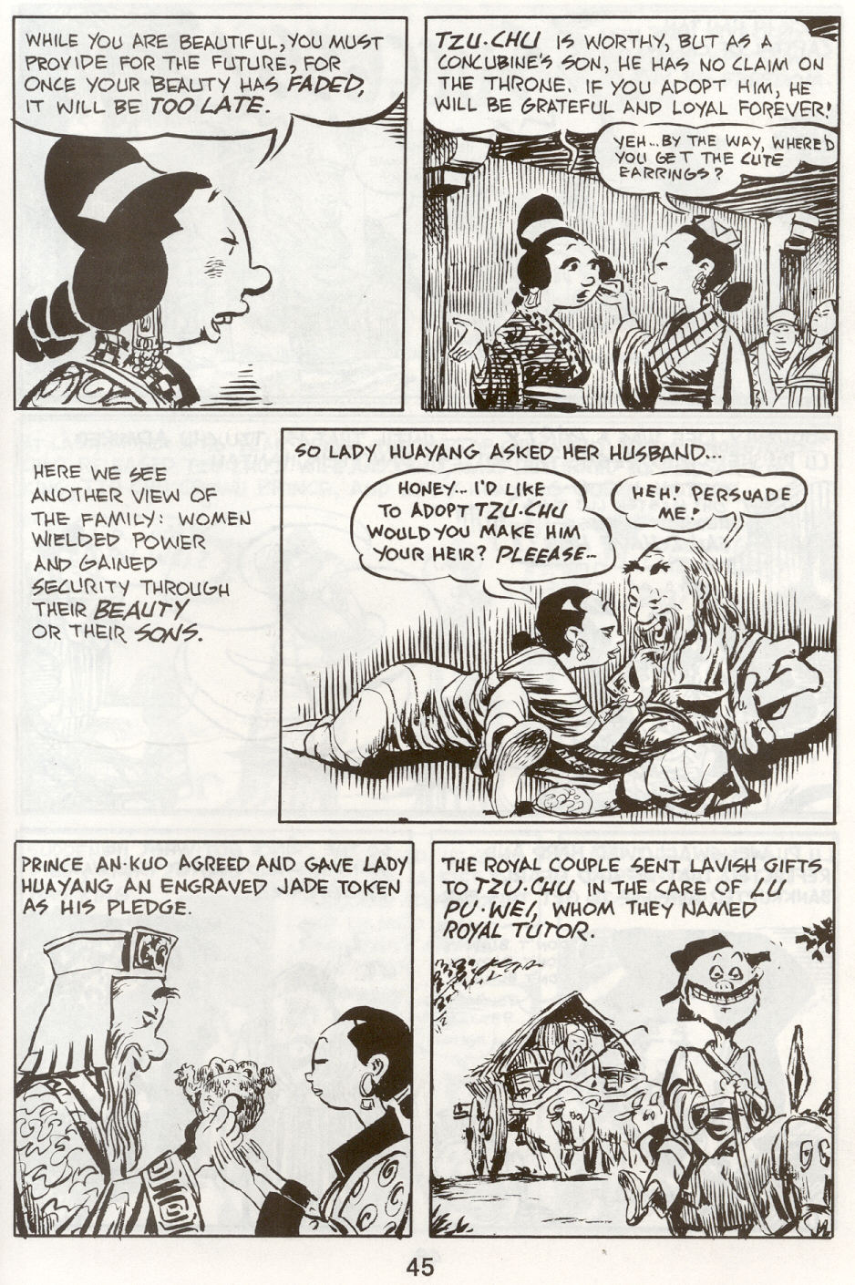 Read online The Cartoon History of the Universe comic -  Issue #9 - 48