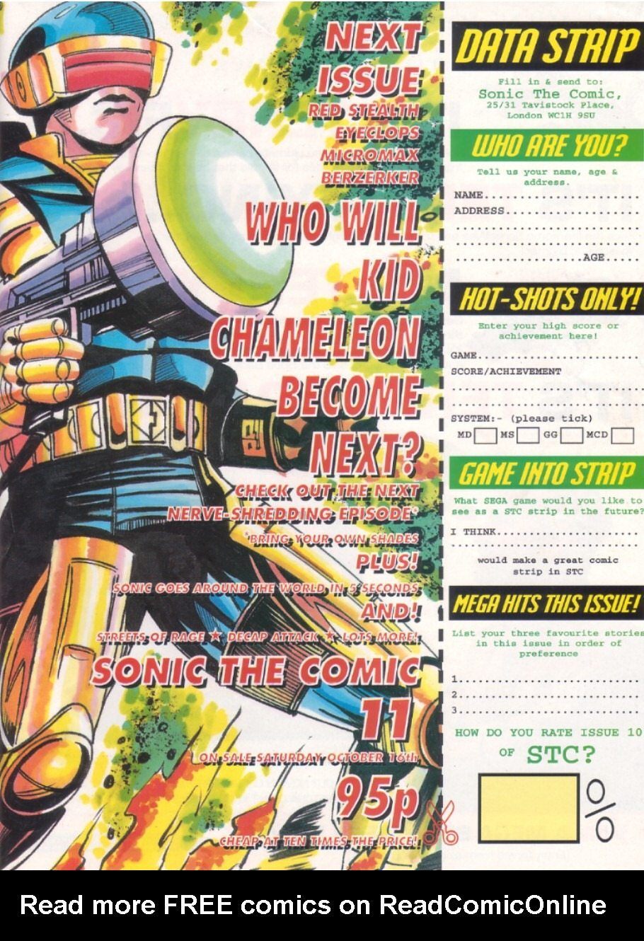 Read online Sonic the Comic comic -  Issue #10 - 31