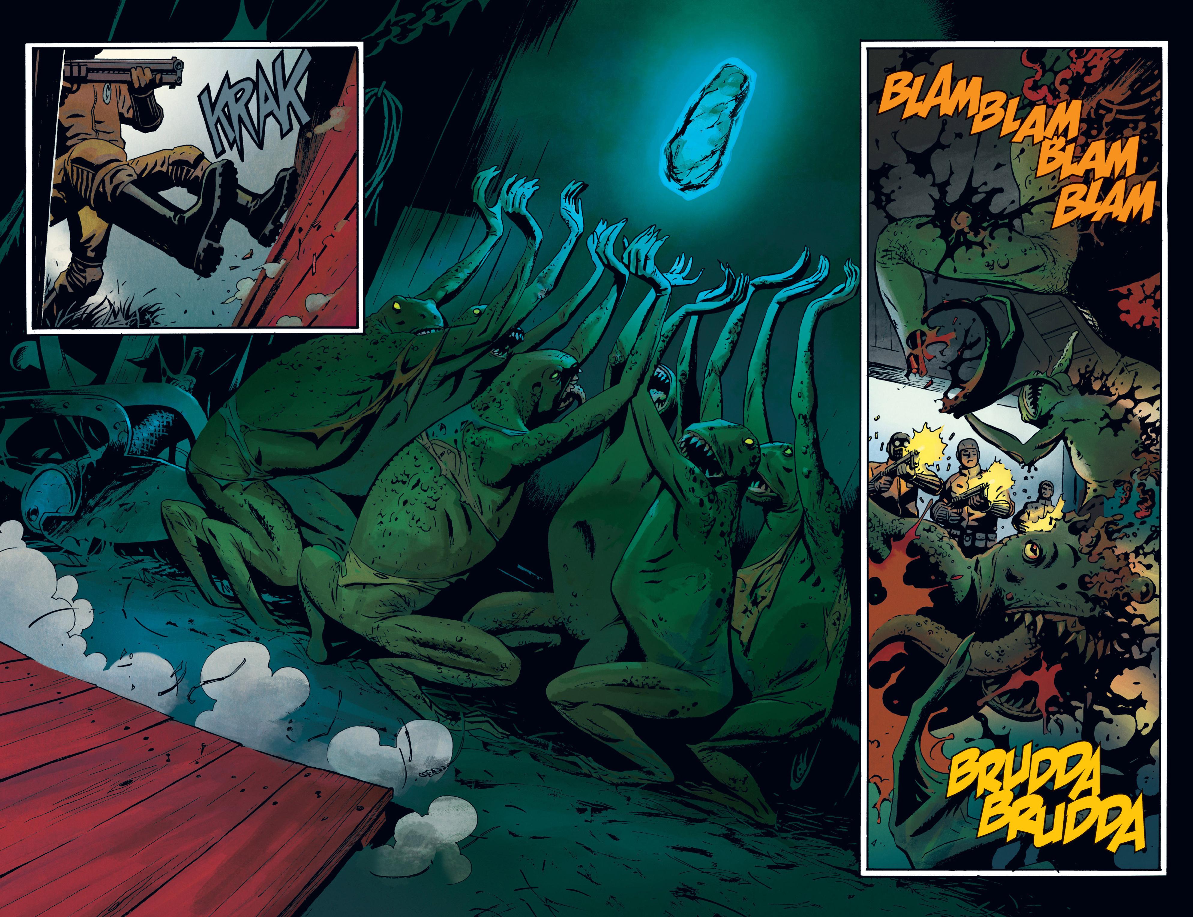 Read online B.P.R.D. (2003) comic -  Issue # TPB 12 - 86