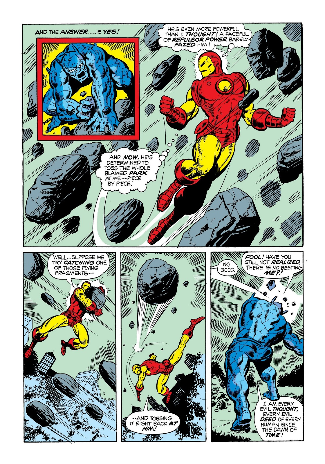 Read online Marvel Masterworks: The Invincible Iron Man comic -  Issue # TPB 9 (Part 1) - 63