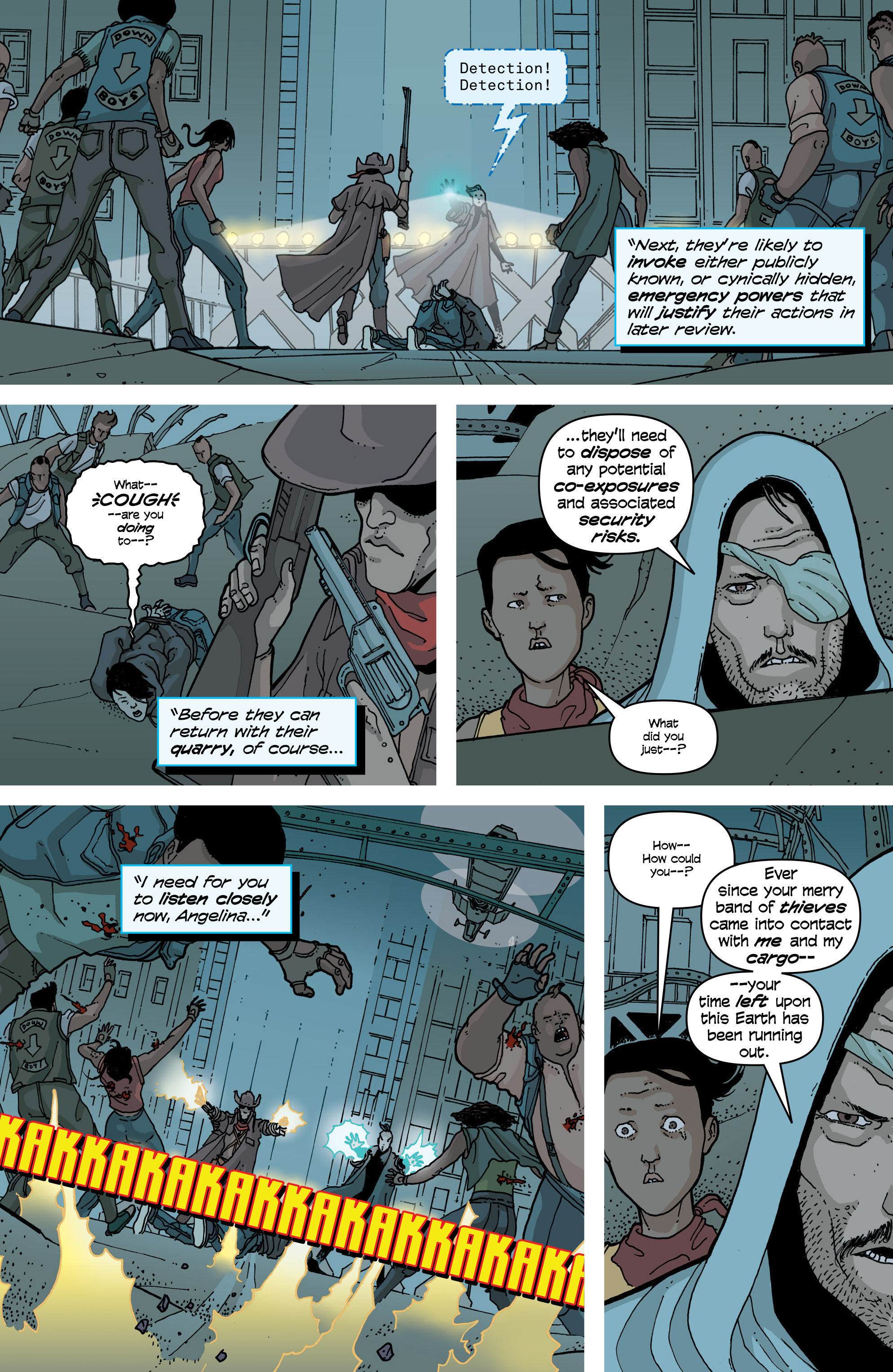 Read online Snowfall comic -  Issue #5 - 19