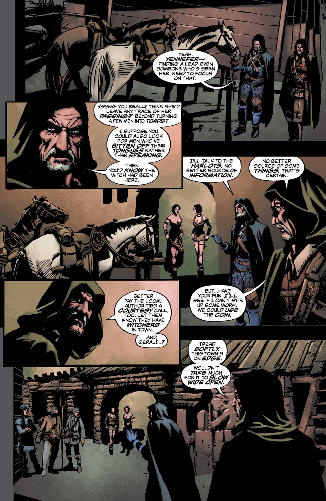 Read online The Witcher Omnibus comic -  Issue # TPB (Part 3) - 53