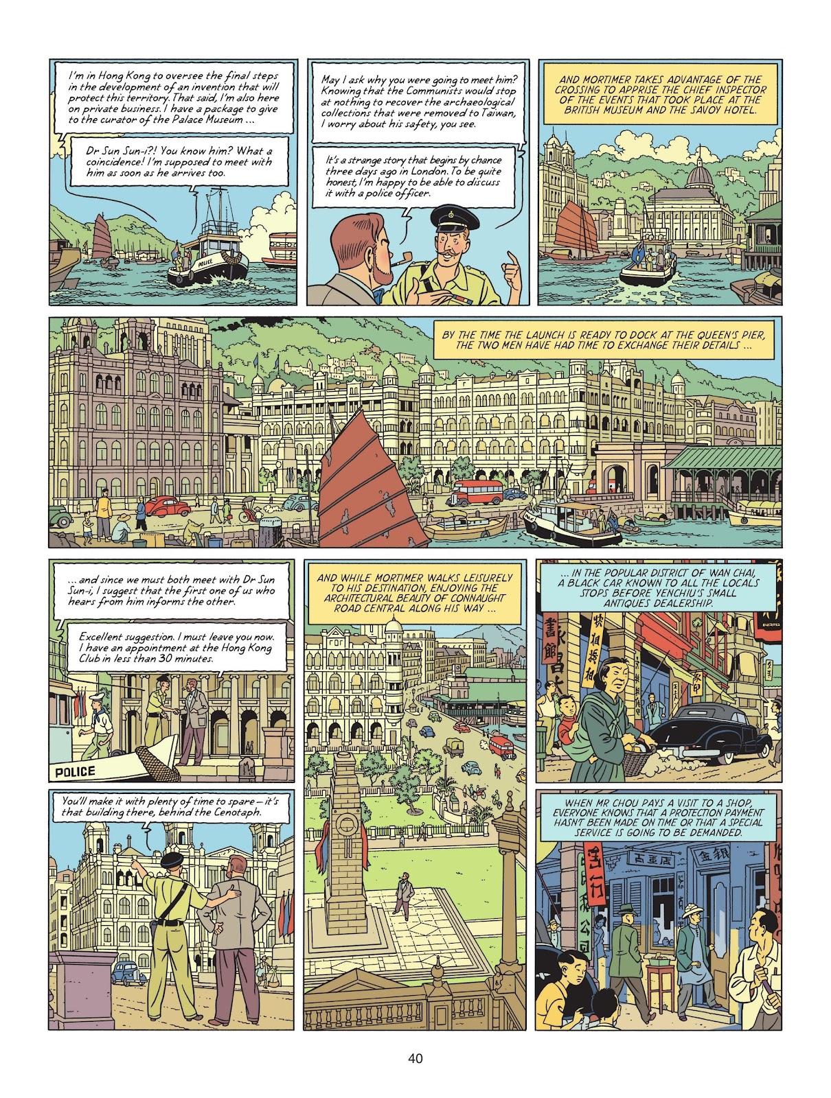 Read online Blake & Mortimer comic -  Issue #25 - 42