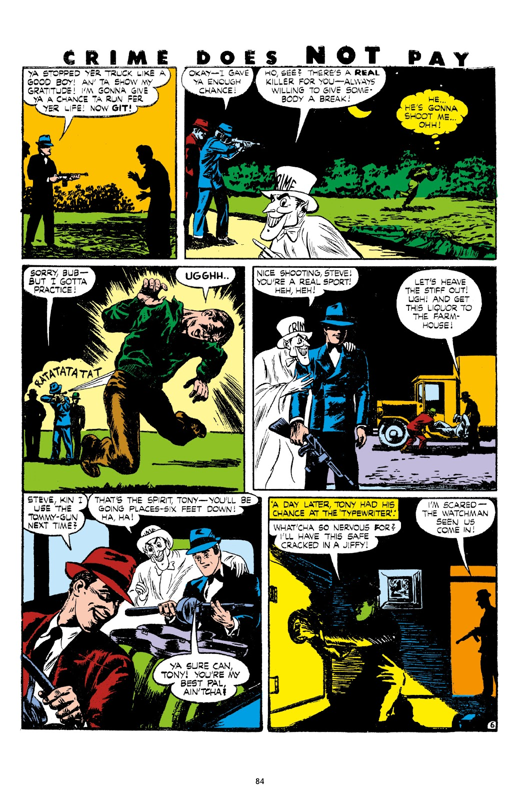 Read online Crime Does Not Pay Archives comic -  Issue # TPB 7 (Part 1) - 86