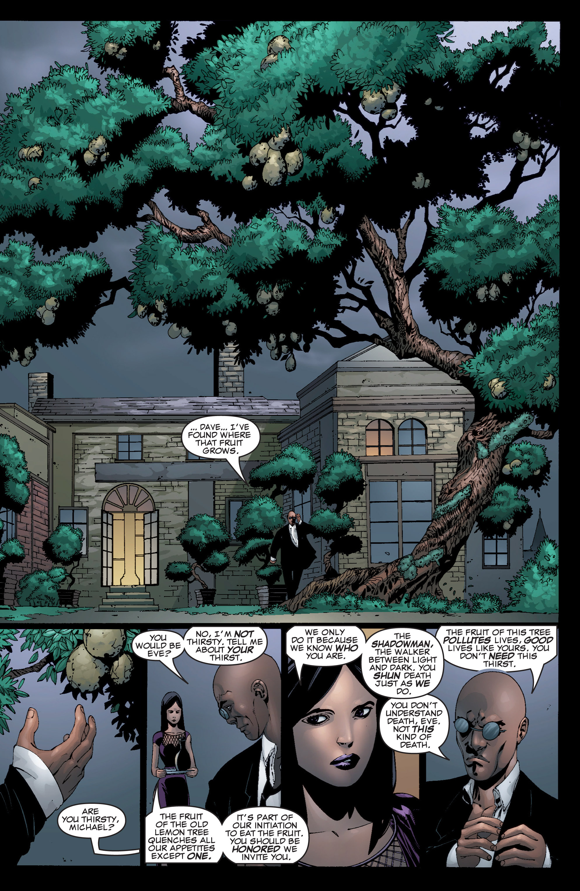 Read online Shadowman (1999) comic -  Issue #5 - 18