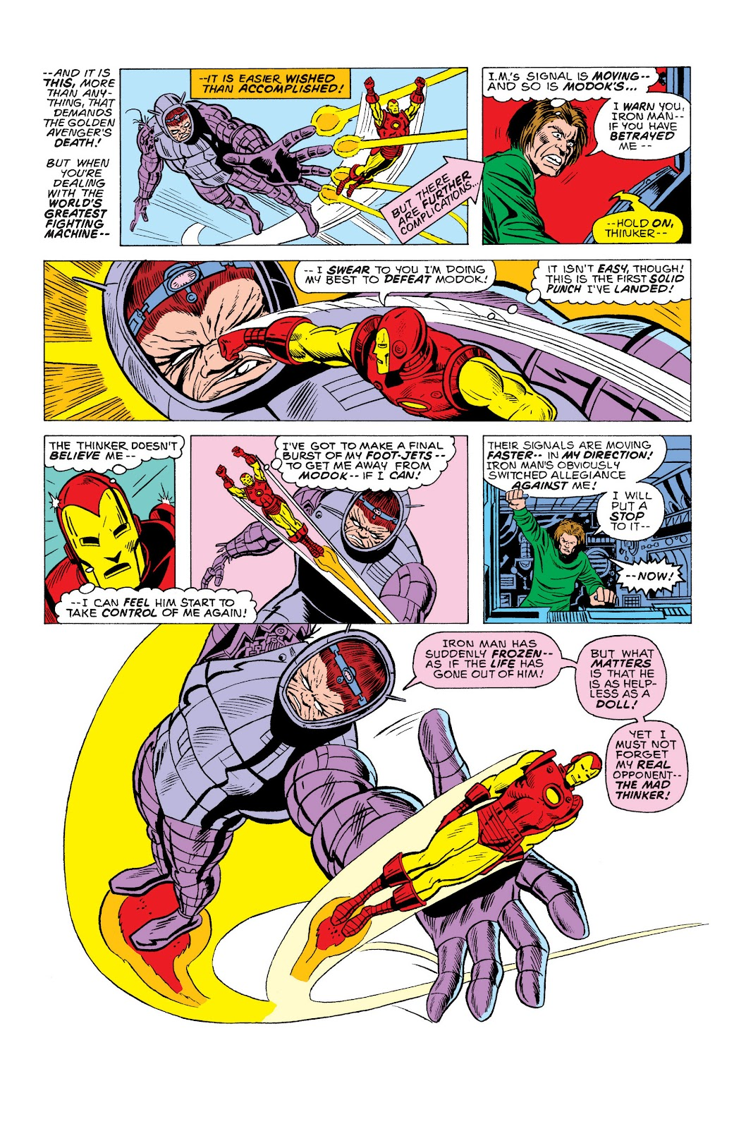 Read online Marvel Masterworks: The Invincible Iron Man comic -  Issue # TPB 10 (Part 2) - 34