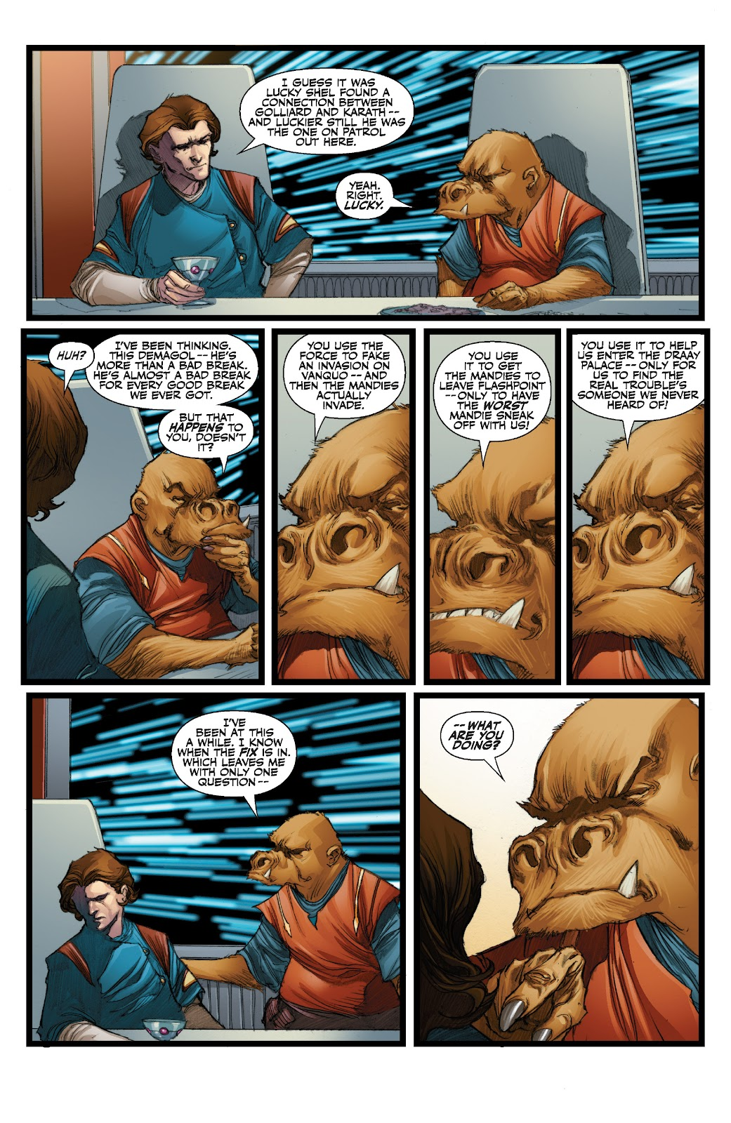 Read online Star Wars Legends: The Old Republic - Epic Collection comic -  Issue # TPB 3 (Part 3) - 70