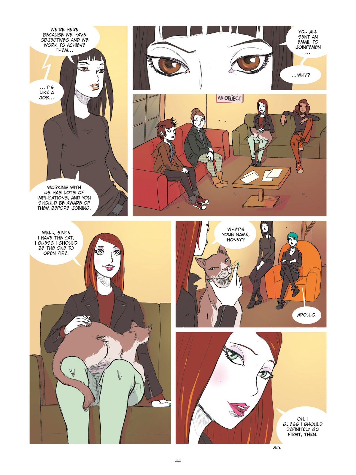 Read online Diary of A Femen comic -  Issue # TPB - 46