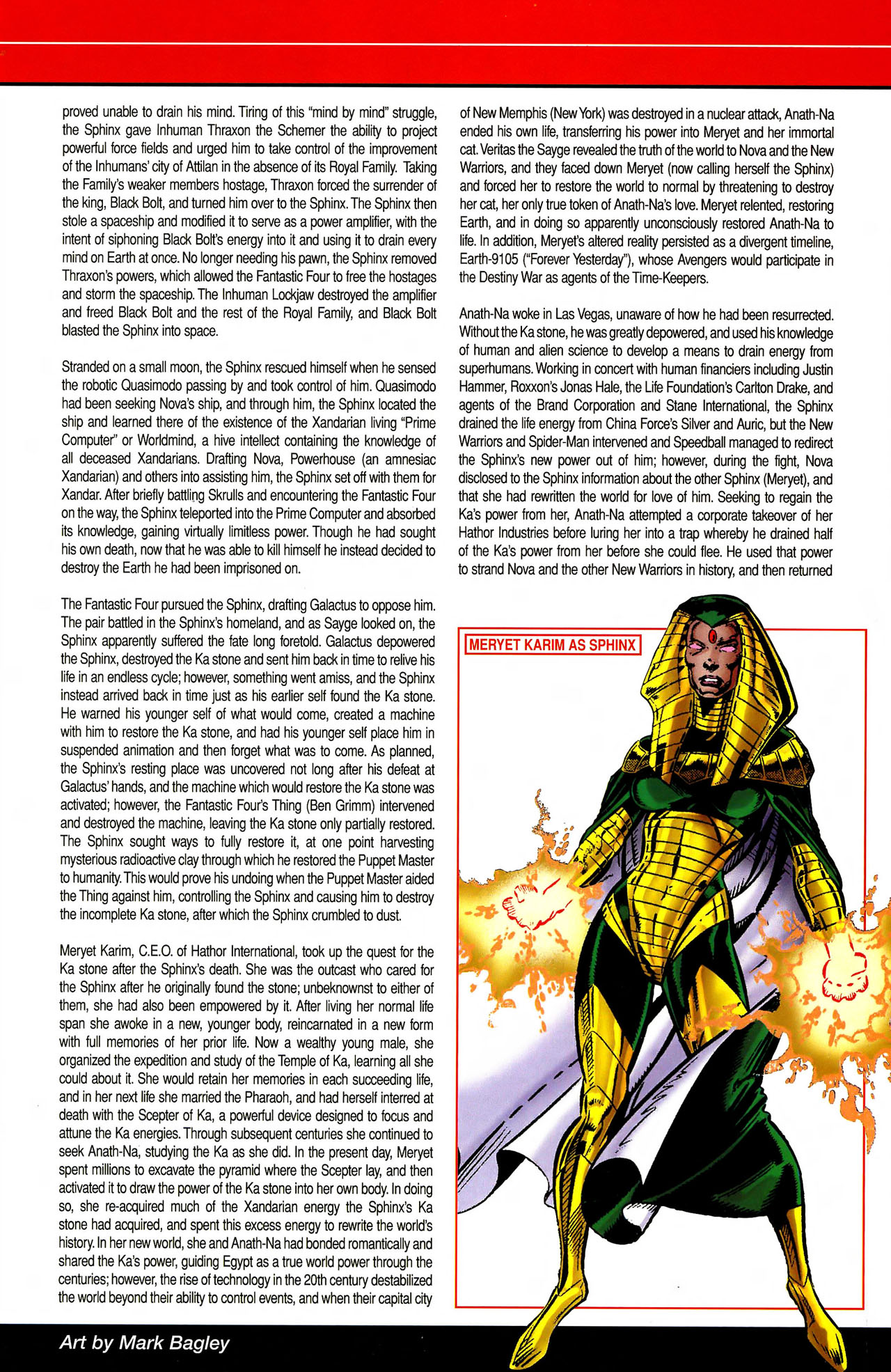 Read online All-New Official Handbook of the Marvel Universe A to Z comic -  Issue #10 - 39