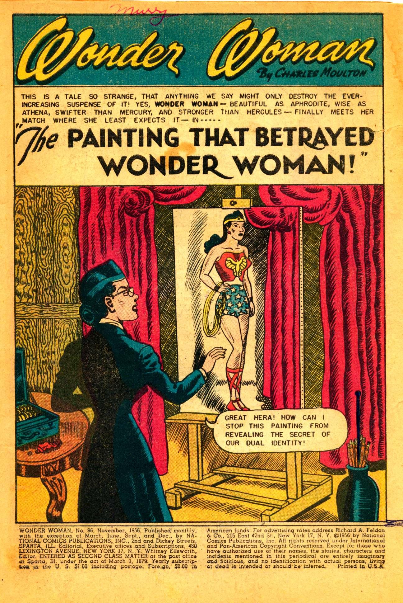 Read online Wonder Woman (1942) comic -  Issue #86 - 2
