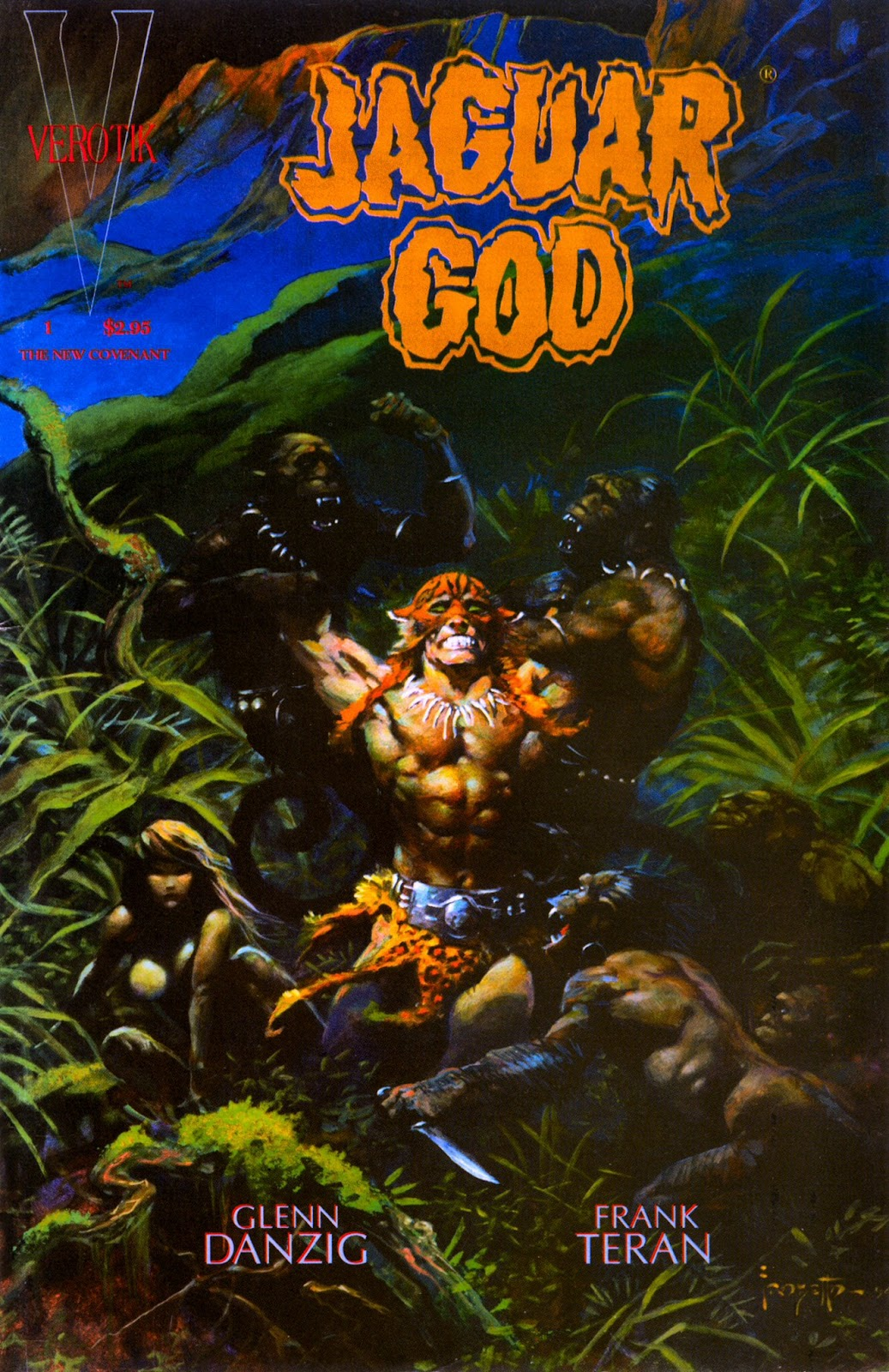 Jaguar God issue 1 - Page 1