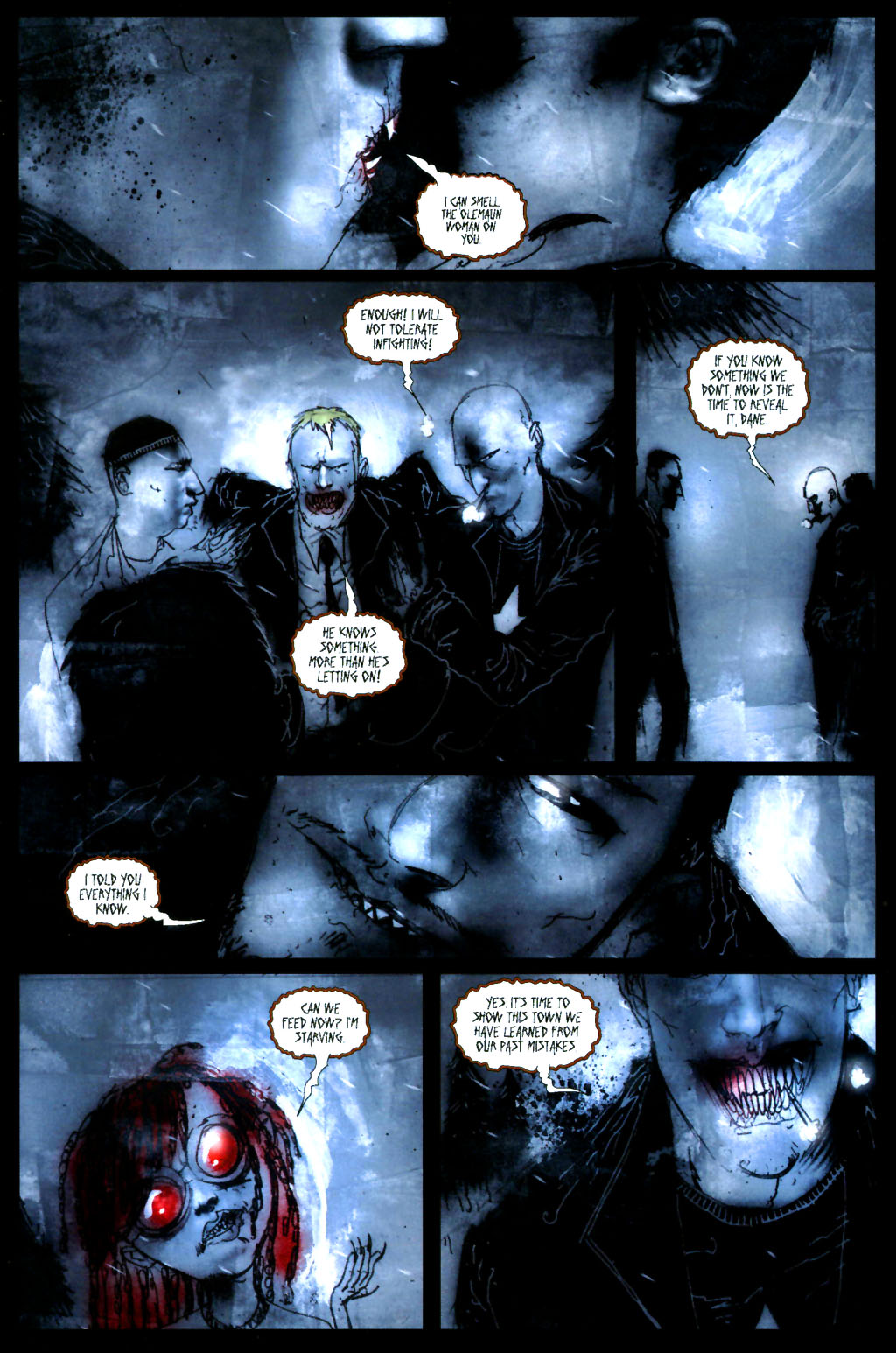 Read online 30 Days of Night: Return to Barrow comic -  Issue #4 - 10