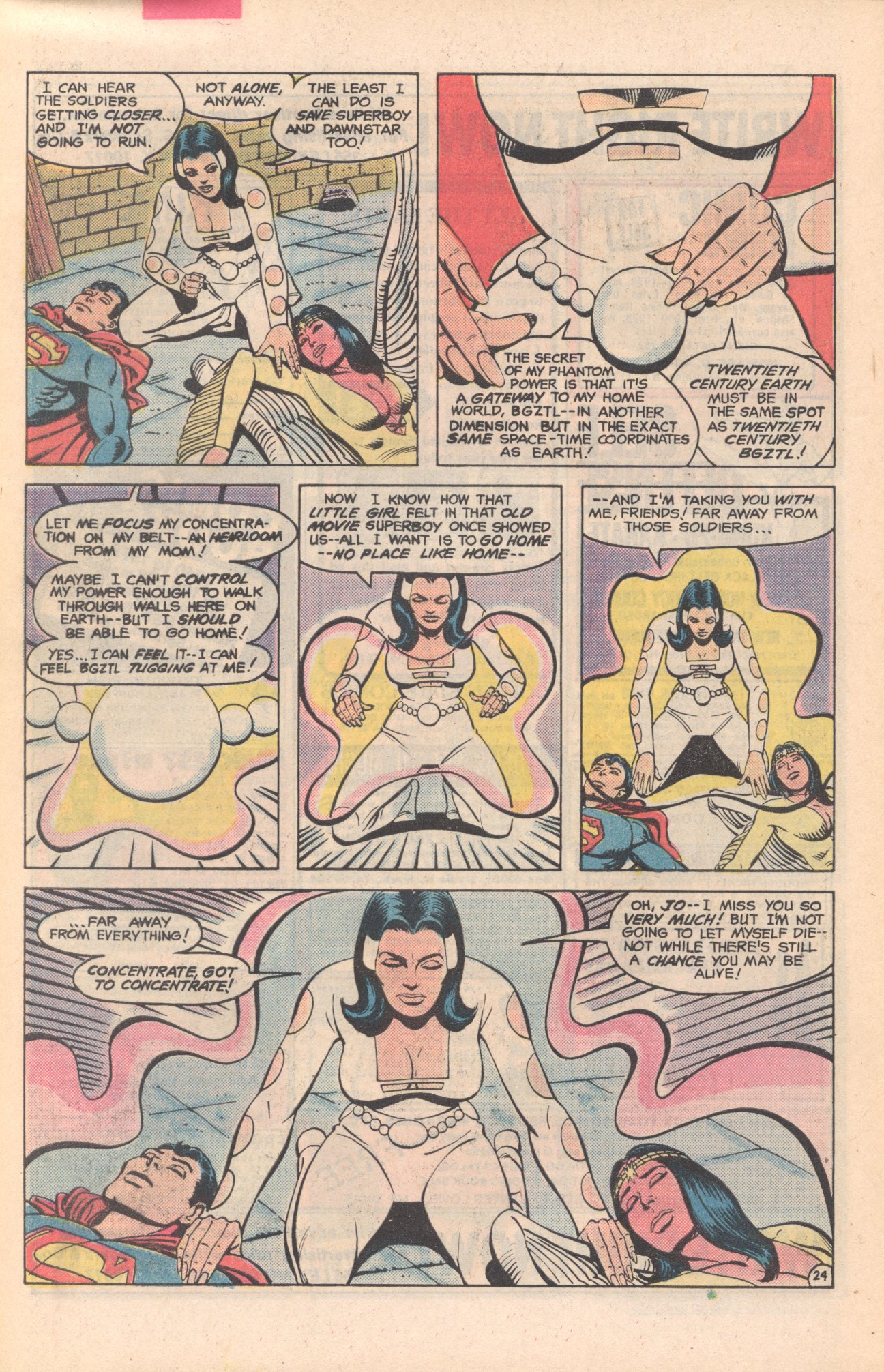 Legion of Super-Heroes (1980) 281 Page 24