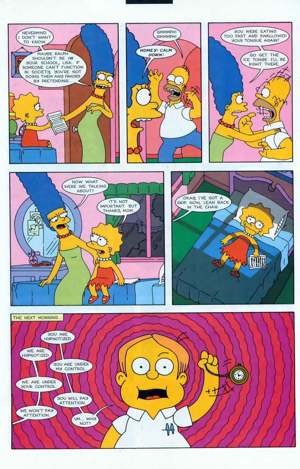 Read online Simpsons Comics comic -  Issue #44 - 16